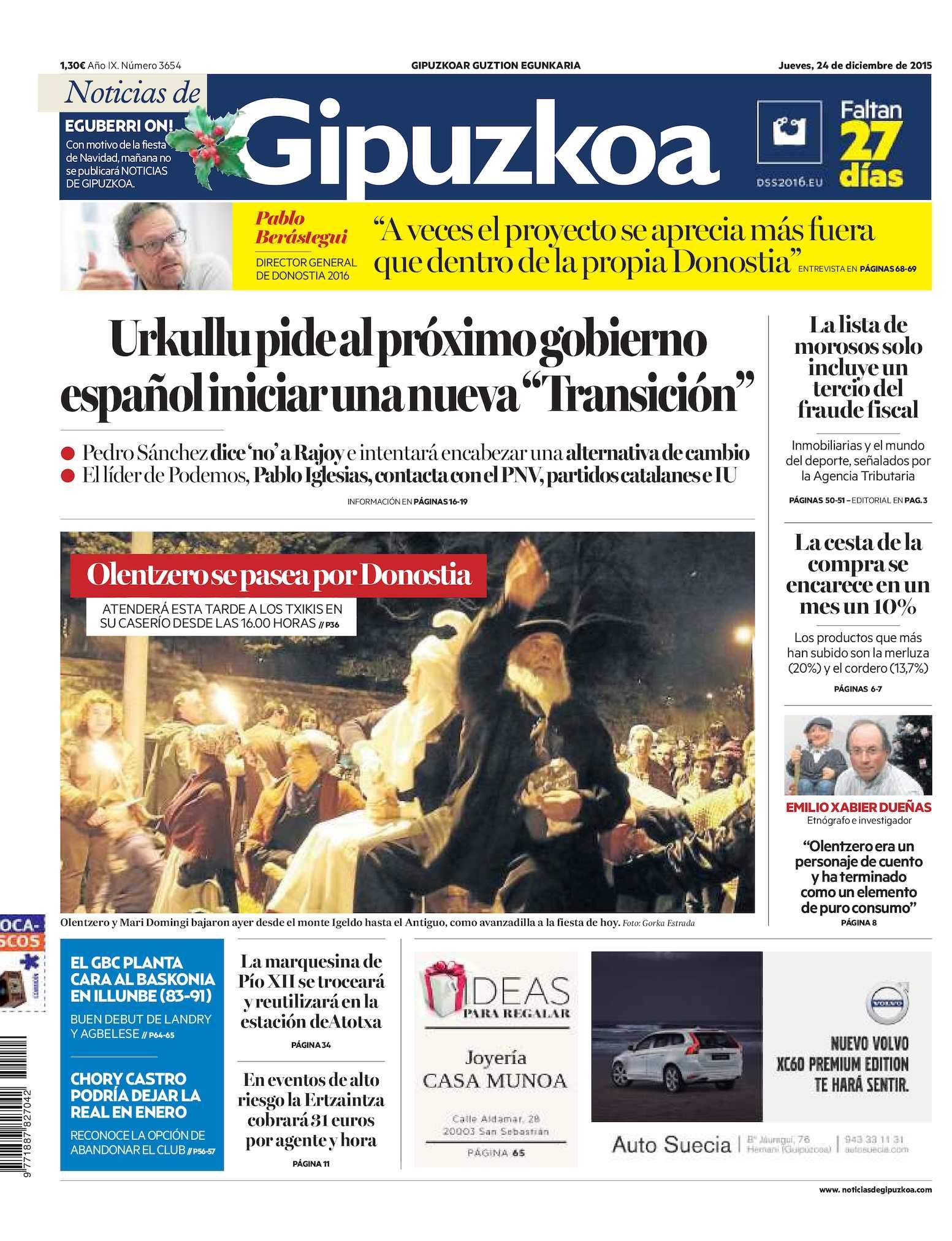 super popular 9655e 30d94 Calaméo - Noticias de Gipuzkoa 20151224