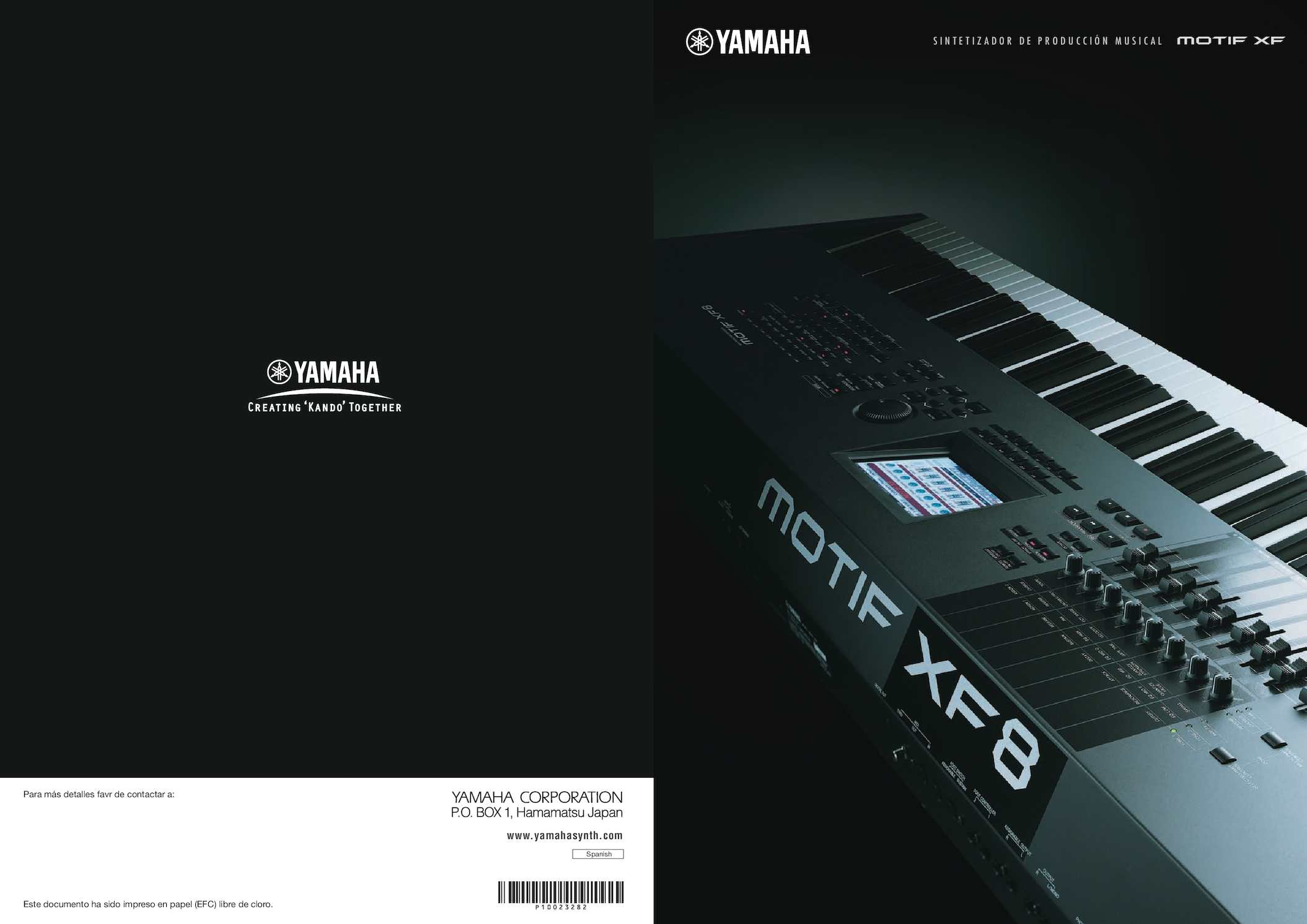 SINTETIZADOR/PIANO MOTIF  XF 8