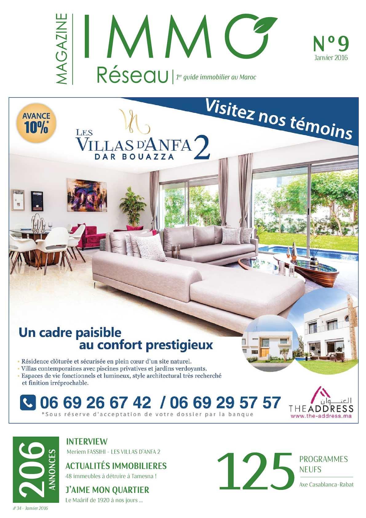 Calaméo Immoreseau Edition N 34 Janvier 2016