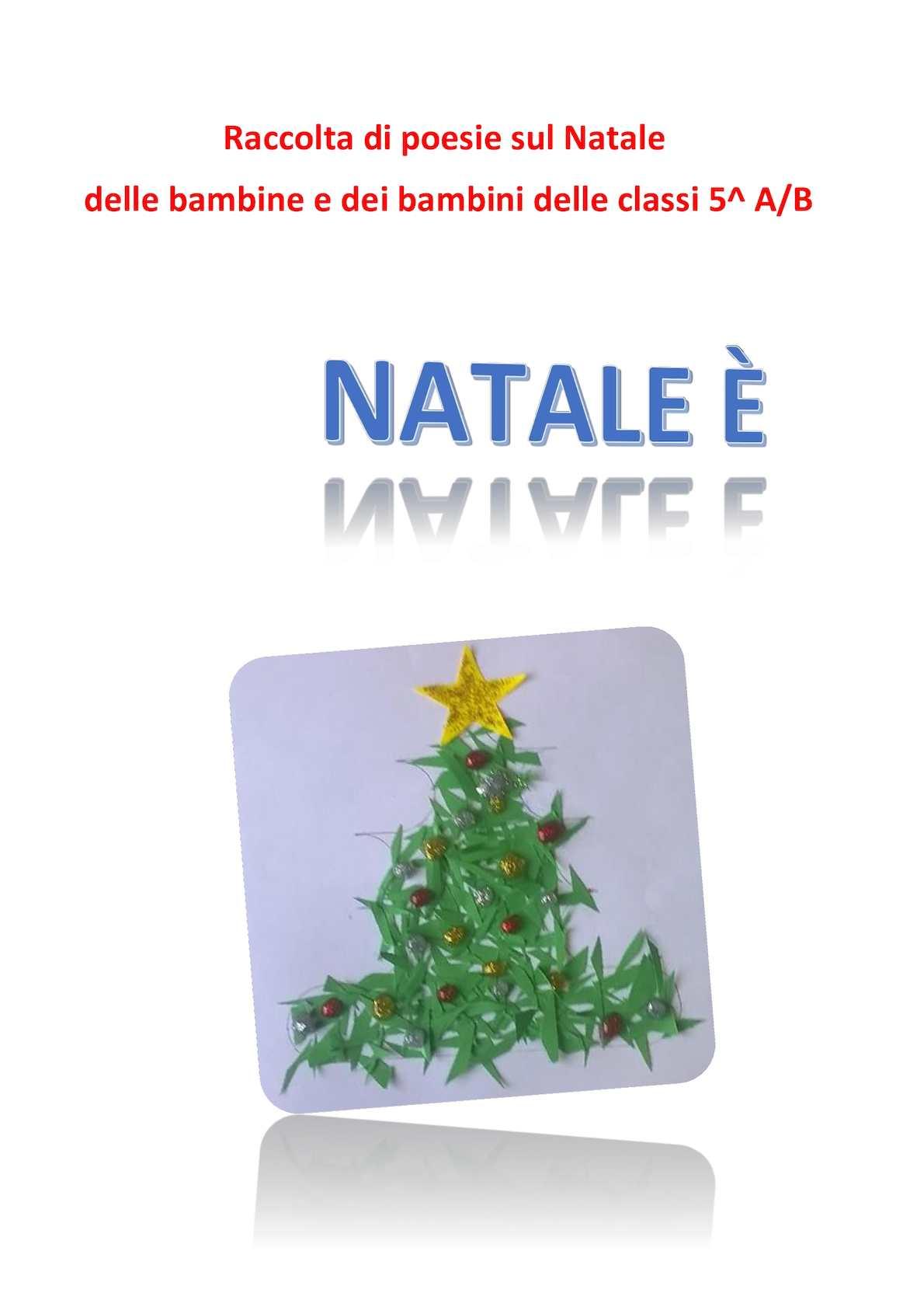 Poesie Di Natalecom.Calameo Poesie Di Natale 5 A B