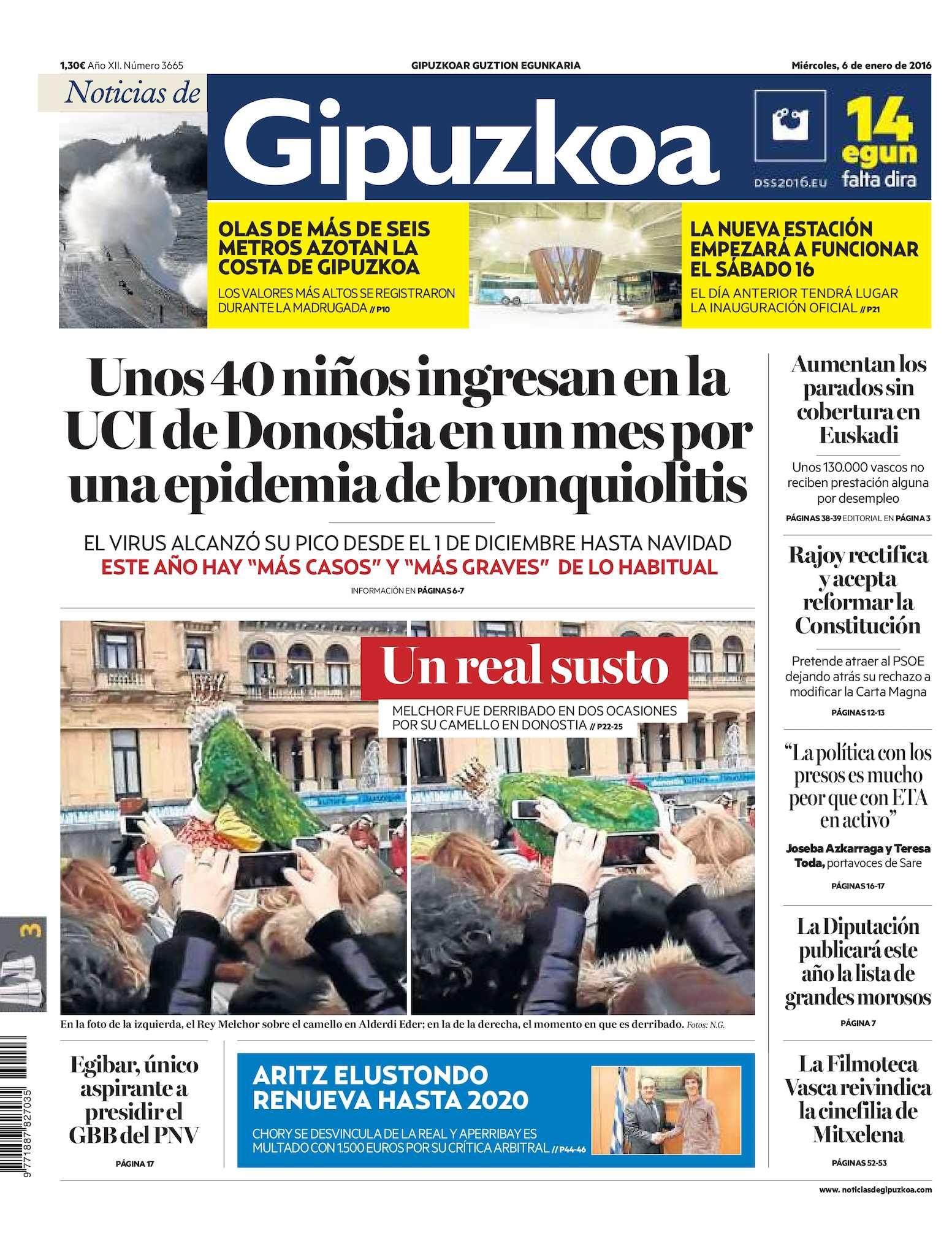24341eb0a38 Calaméo - Noticias de Gipuzkoa 20160106