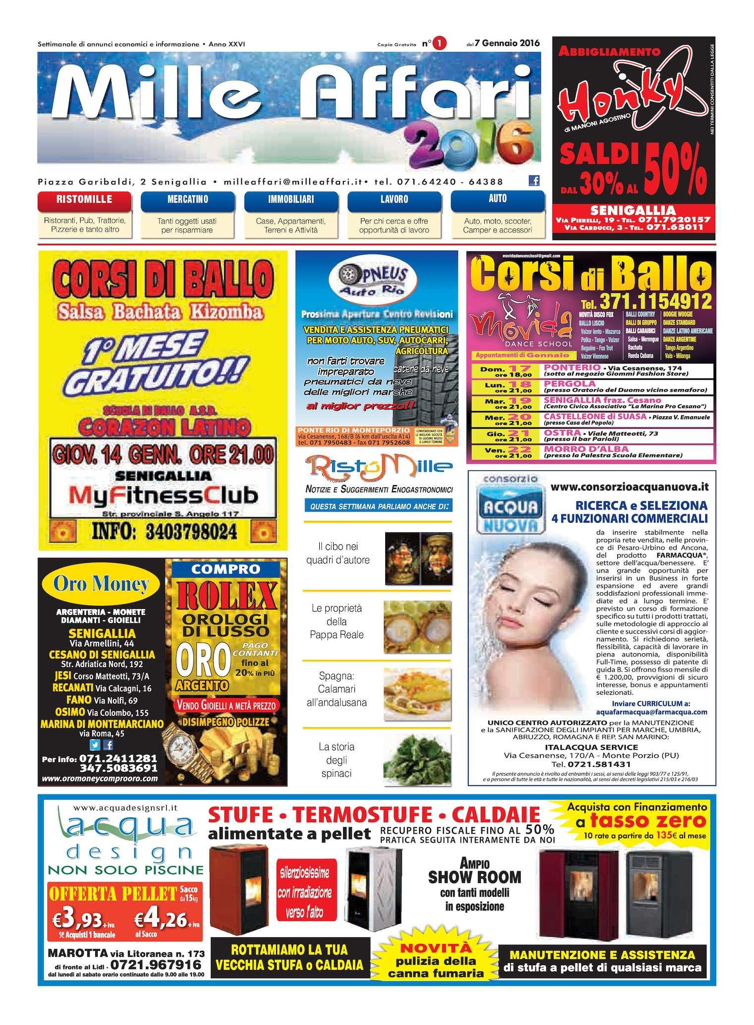 Calameo Milleaffari N 01 Del 07 01 16