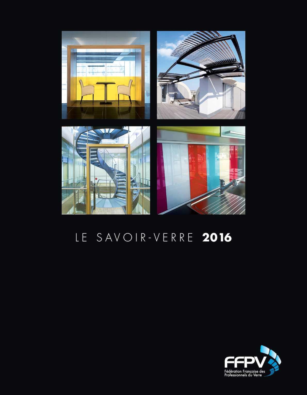 Tarif Vitrage Saint Gobain calaméo - brochure ffpv 2016