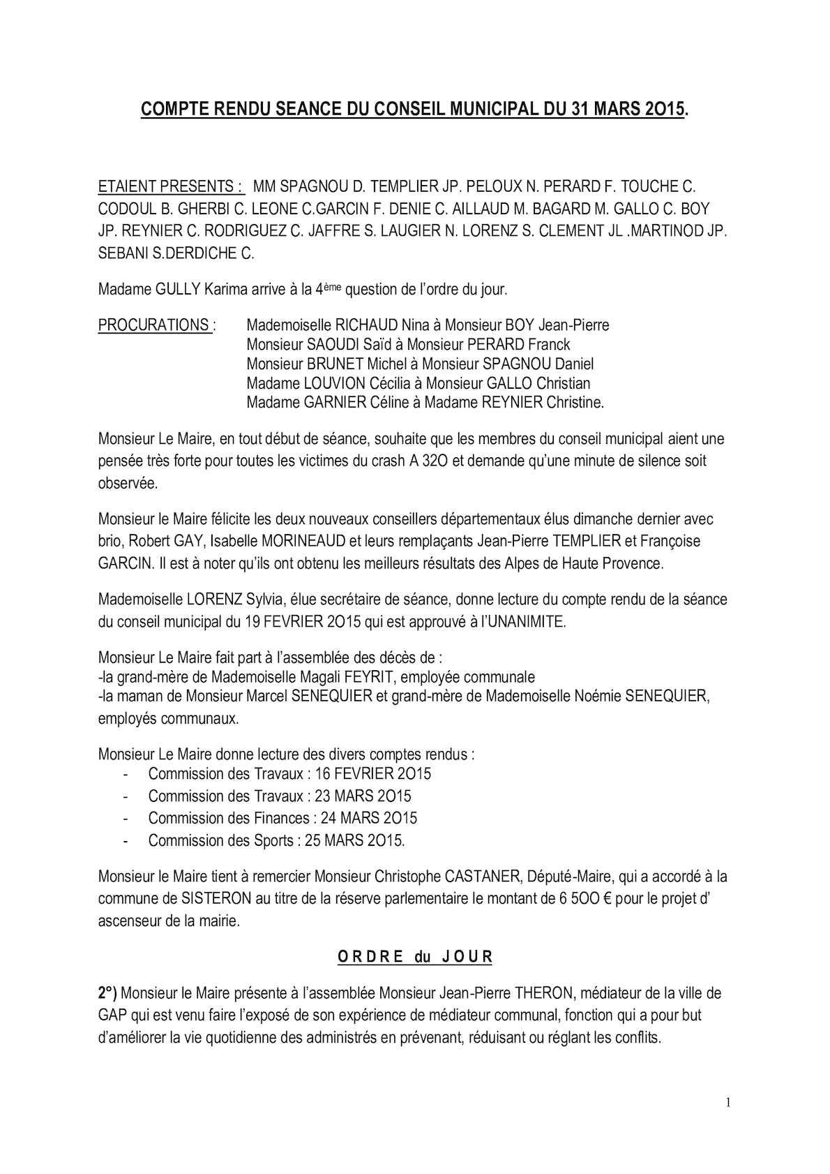 Calaméo - Compte rendu du conseil municipal du 31 Mars 2015 0b42945c9db0