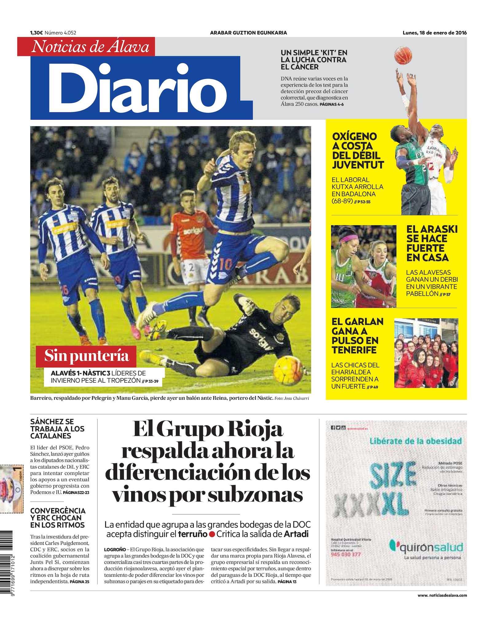 save off 23afa 7b2f4 Calaméo - Diario de Noticias de Álava 20160118