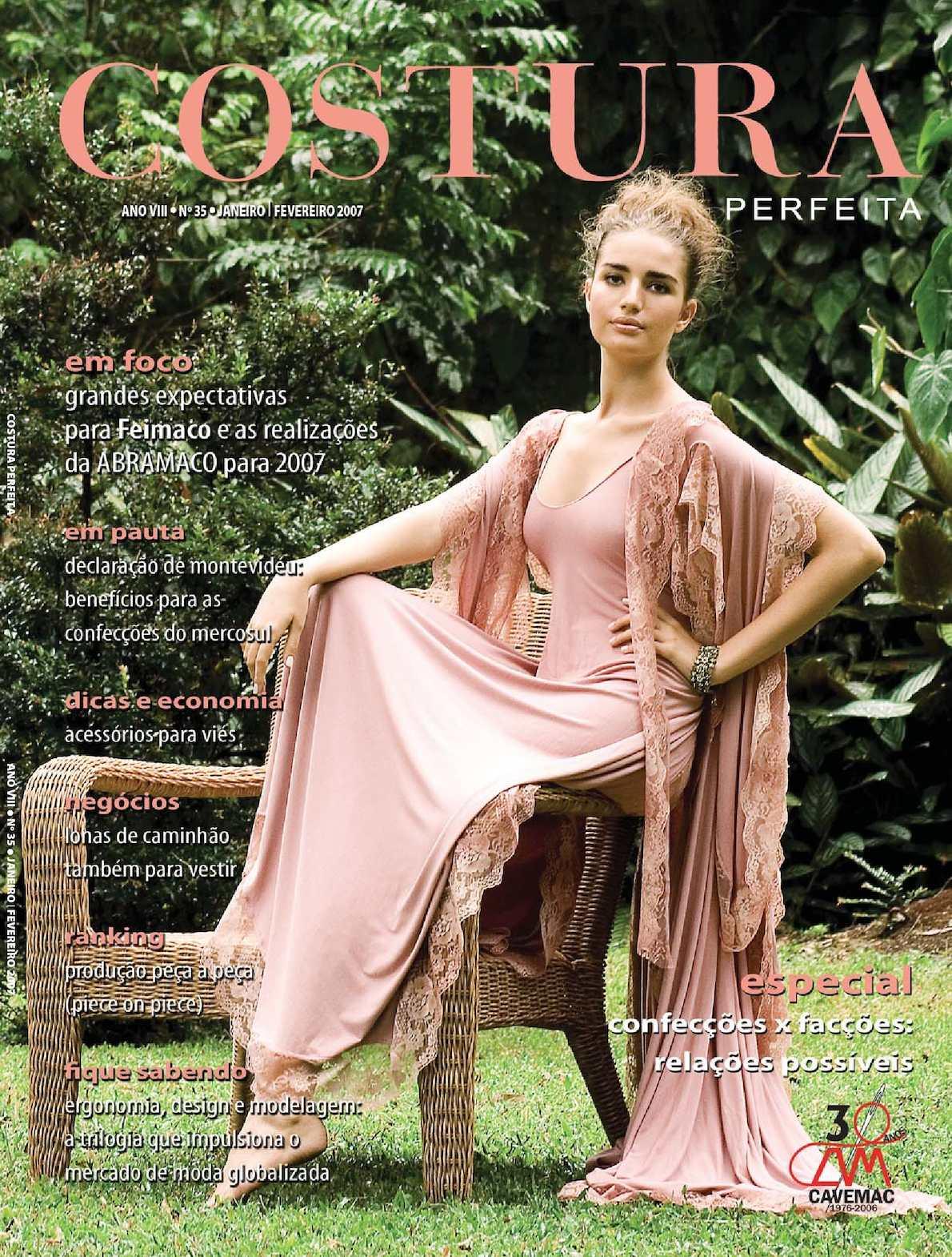 8a1c3b06e Calaméo - Revista Costura Perfeita Edição Ano VIII - N35 Janeiro-Fevereiro  2007