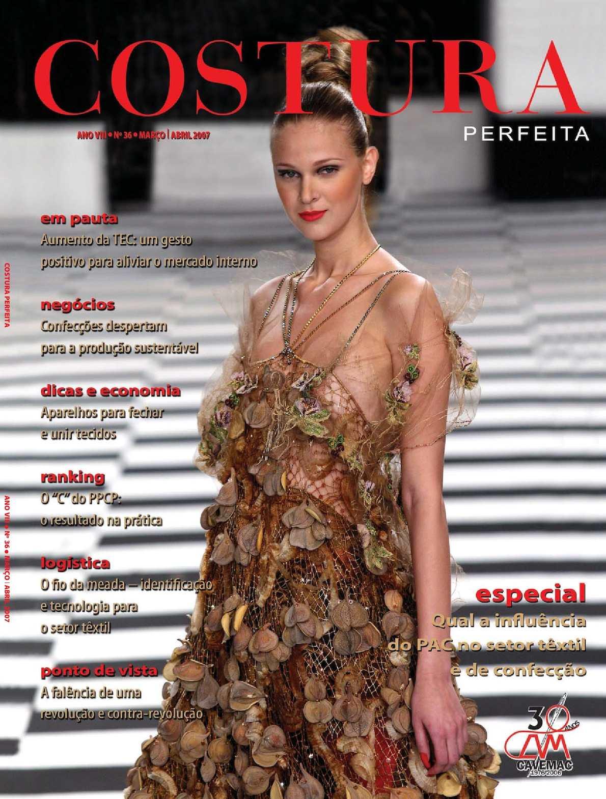 27289c068 Calaméo - Revista Costura Perfeita Edição Ano VIII - N36 Março-Abril 2007