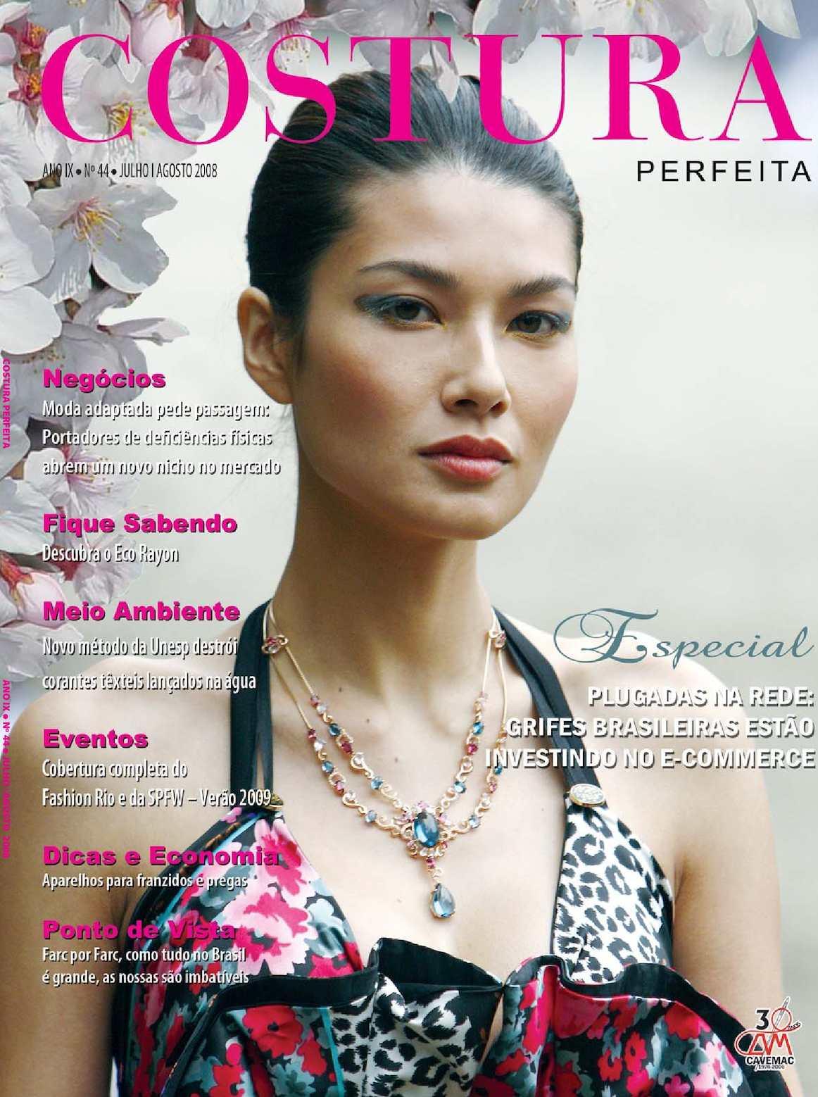 5b32ca398d Calaméo - Revista Costura Perfeita Edição Ano IX - N44 Julho-Agosto 2008