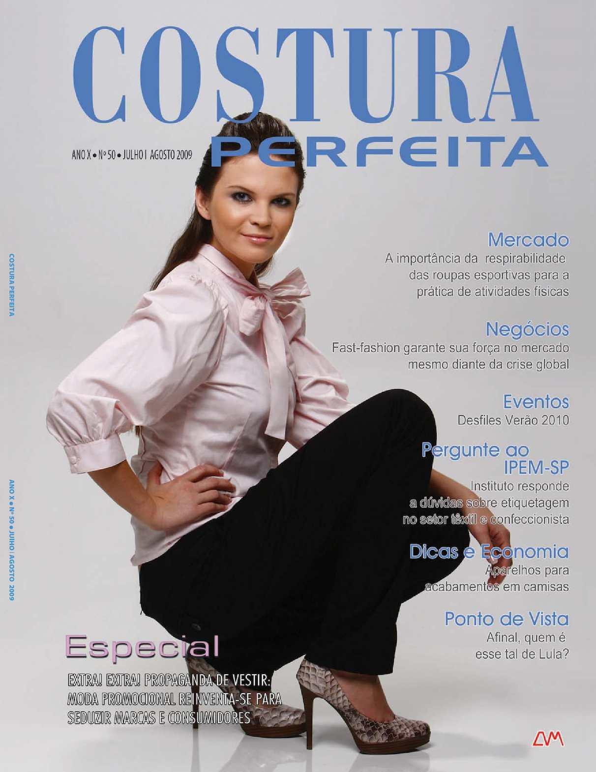 8f69206c1 Calaméo - Revista Costura Perfeita Edição Ano X - N50 -Julho-Agosto 2009