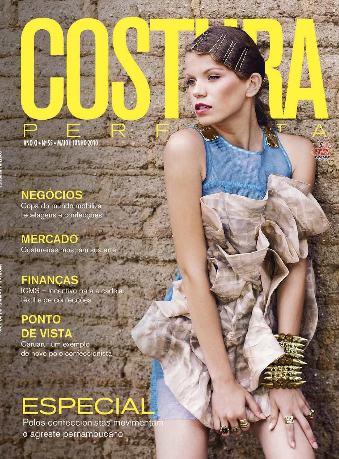 8fe3e7d8b Calaméo - Revista Costura Perfeita Edição Ano XI - N55 - Maio-Junho 2010