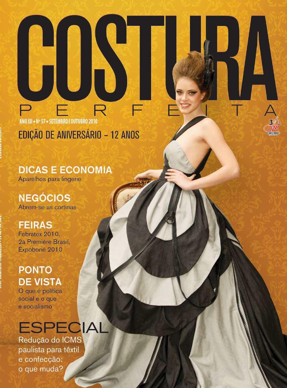 25f3c177f Calaméo - Revista Costura Perfeita Edição Ano XII - N57 - Setembro-Outubro  2010