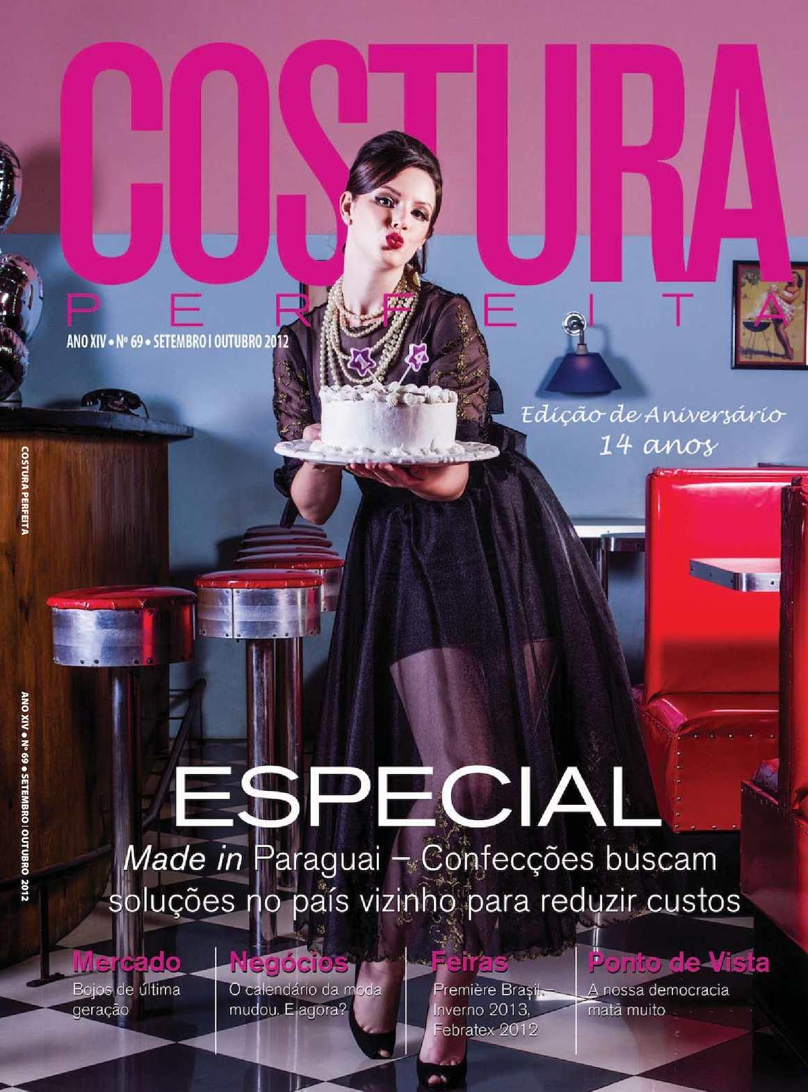 7f2cc473c Calaméo - Revista Costura Perfeita Edição Ano XIV - N69 - Setembro-Outubro  2012