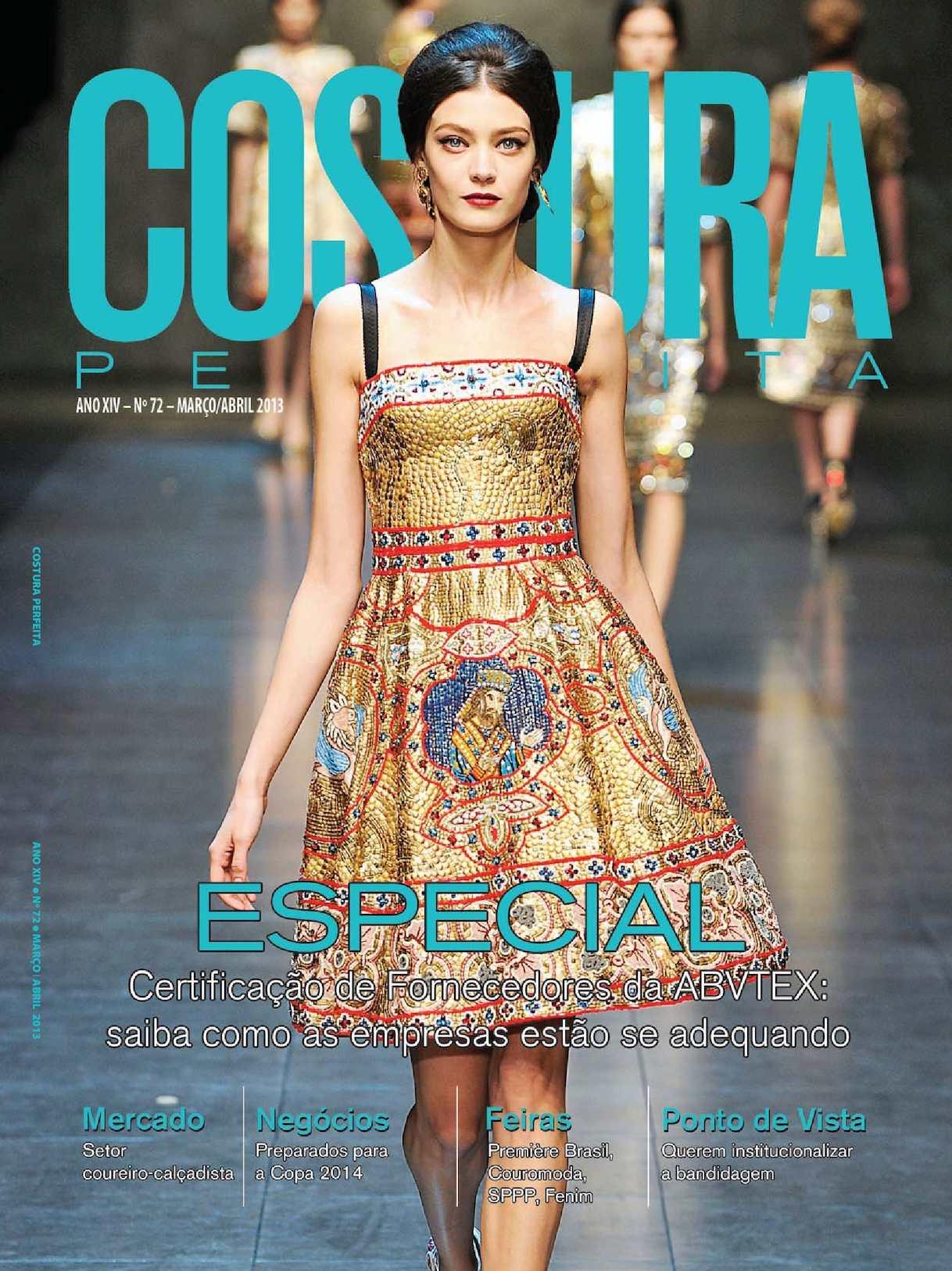 f2ef632b3 Calaméo - Revista Costura Perfeita Edição Ano XIV - N72 - Março-Abril 2013
