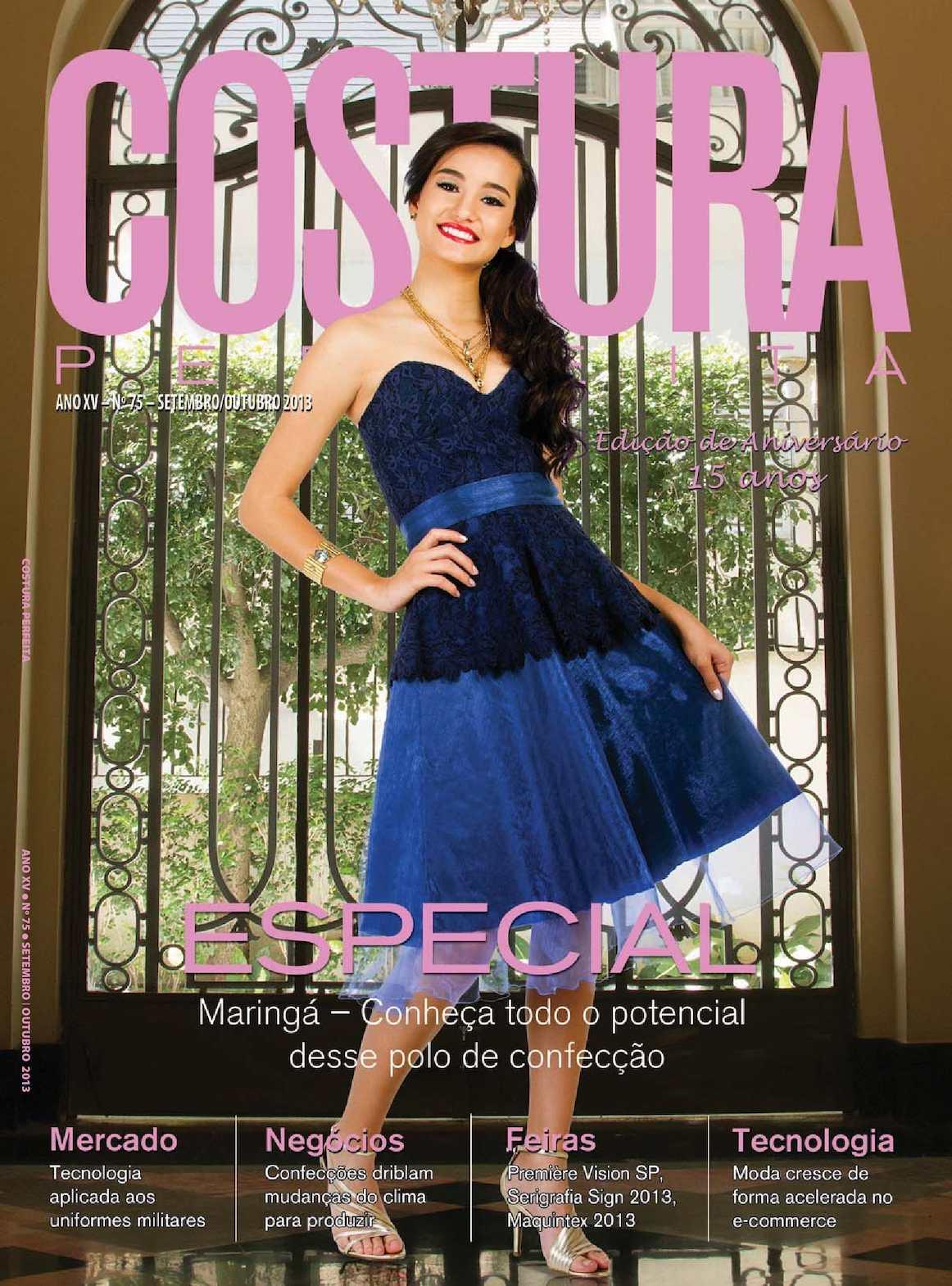 43c8eca10 Calaméo - Revista Costura Perfeita Edição Ano XV - N75 - Setembro-Outubro  2013