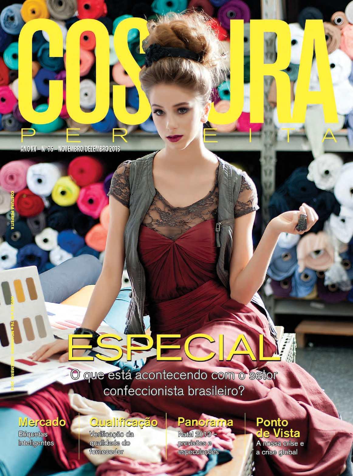 cfae508606 Calaméo - Revista Costura Perfeita Edição Ano XV - N76 - Novembro-Dezembro  2013