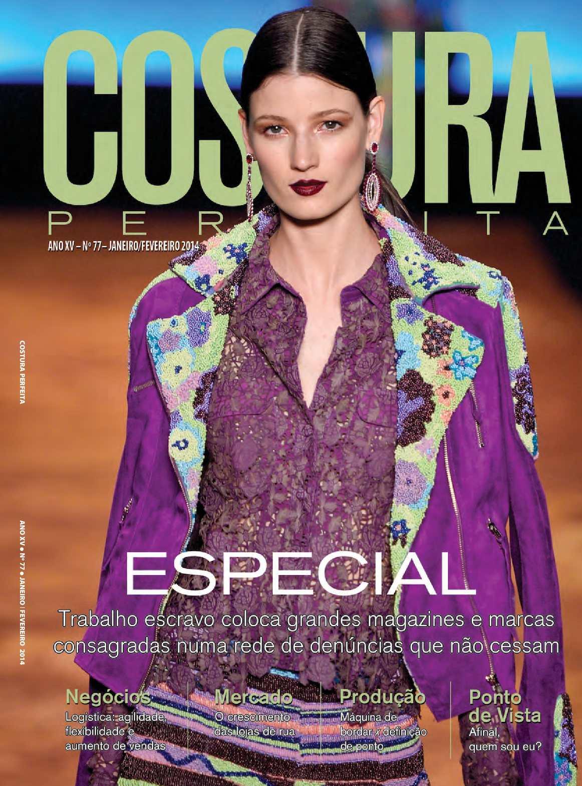 6c8eaae7d Calaméo - Revista Costura Perfeita Edição Ano XV - N77 - Janeiro-Fevereiro  2014