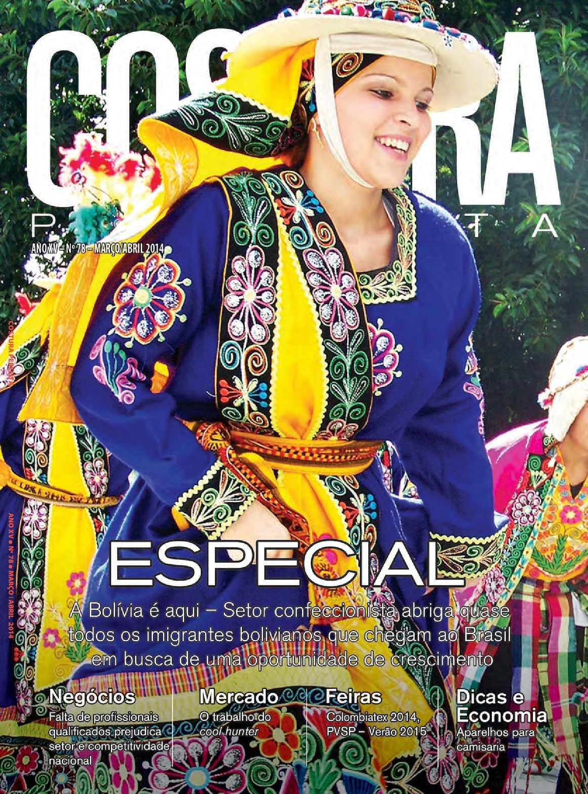 3d5dade9a7b6 Calaméo - Revista Costura Perfeita Edição Ano XV - N78 - Março-Abril 2014