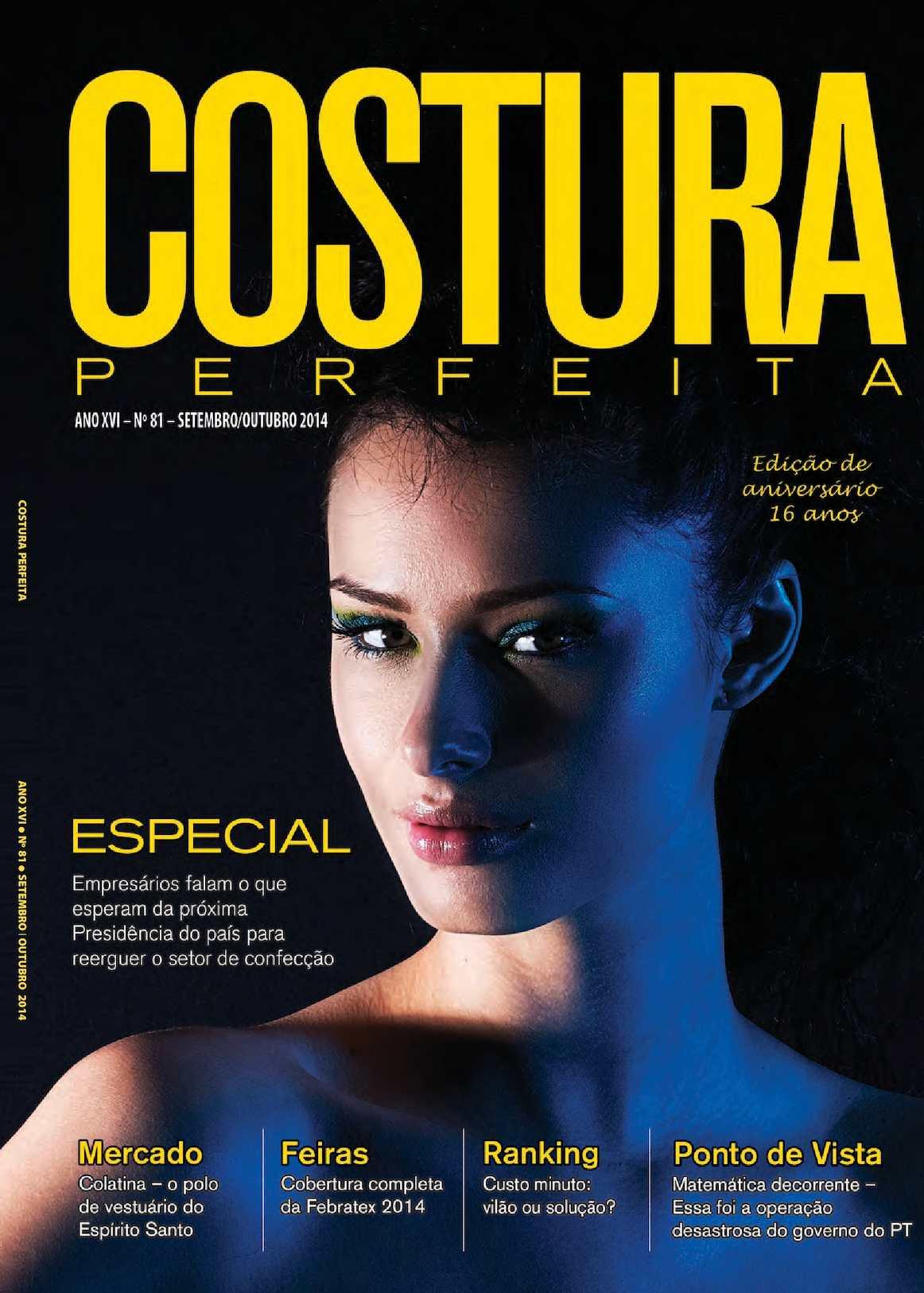 961f0b1b6 Calaméo - Revista Costura Perfeita Edição Ano XVI - N81 - Setembro-Outubro  2014