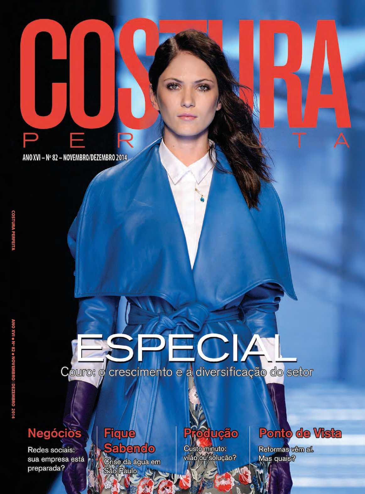 0ad74d33e Calaméo - Revista Costura Perfeita Edição Ano XVI - N82 - Novembro-Dezembro  2014
