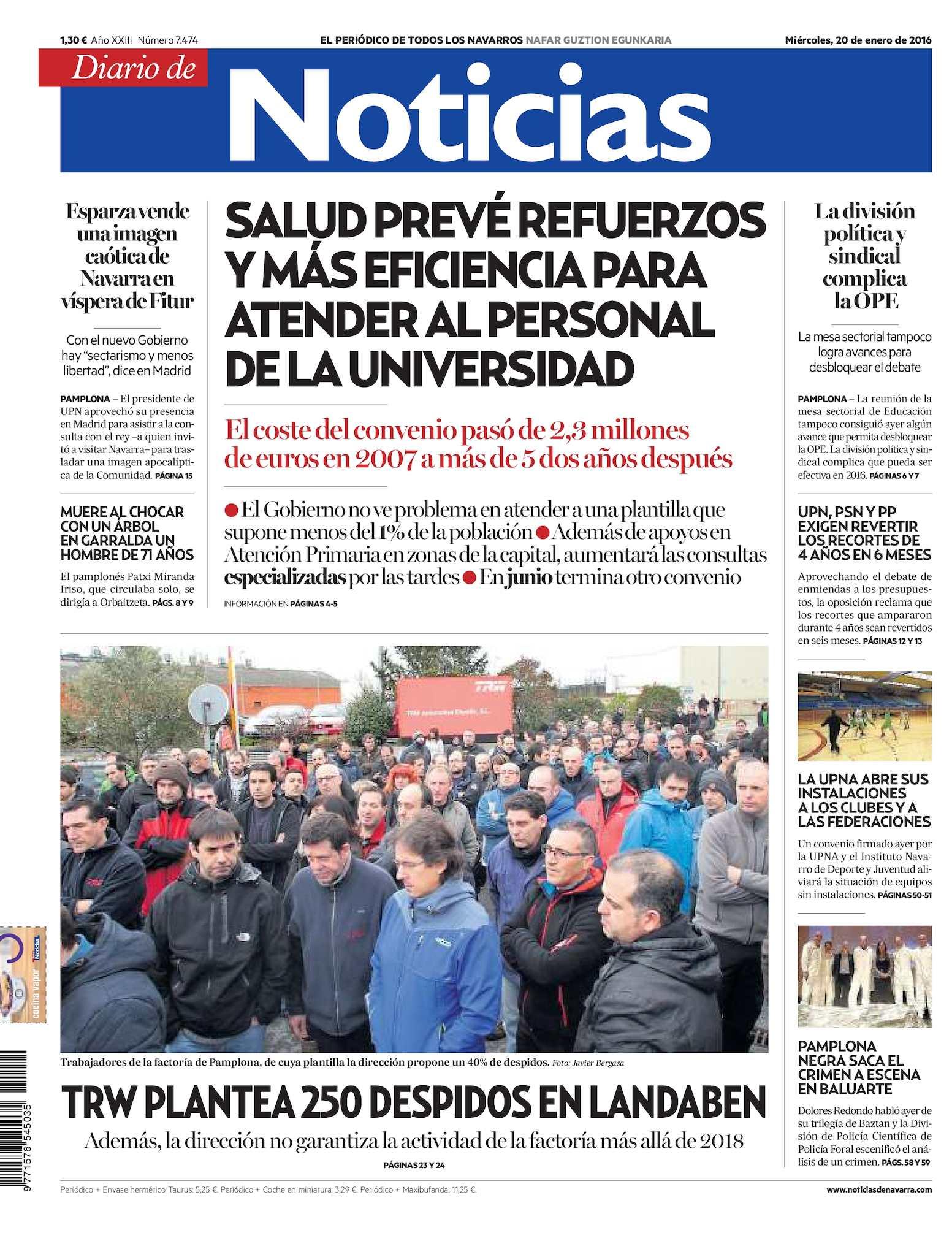 Calaméo Diario De Noticias 20160120