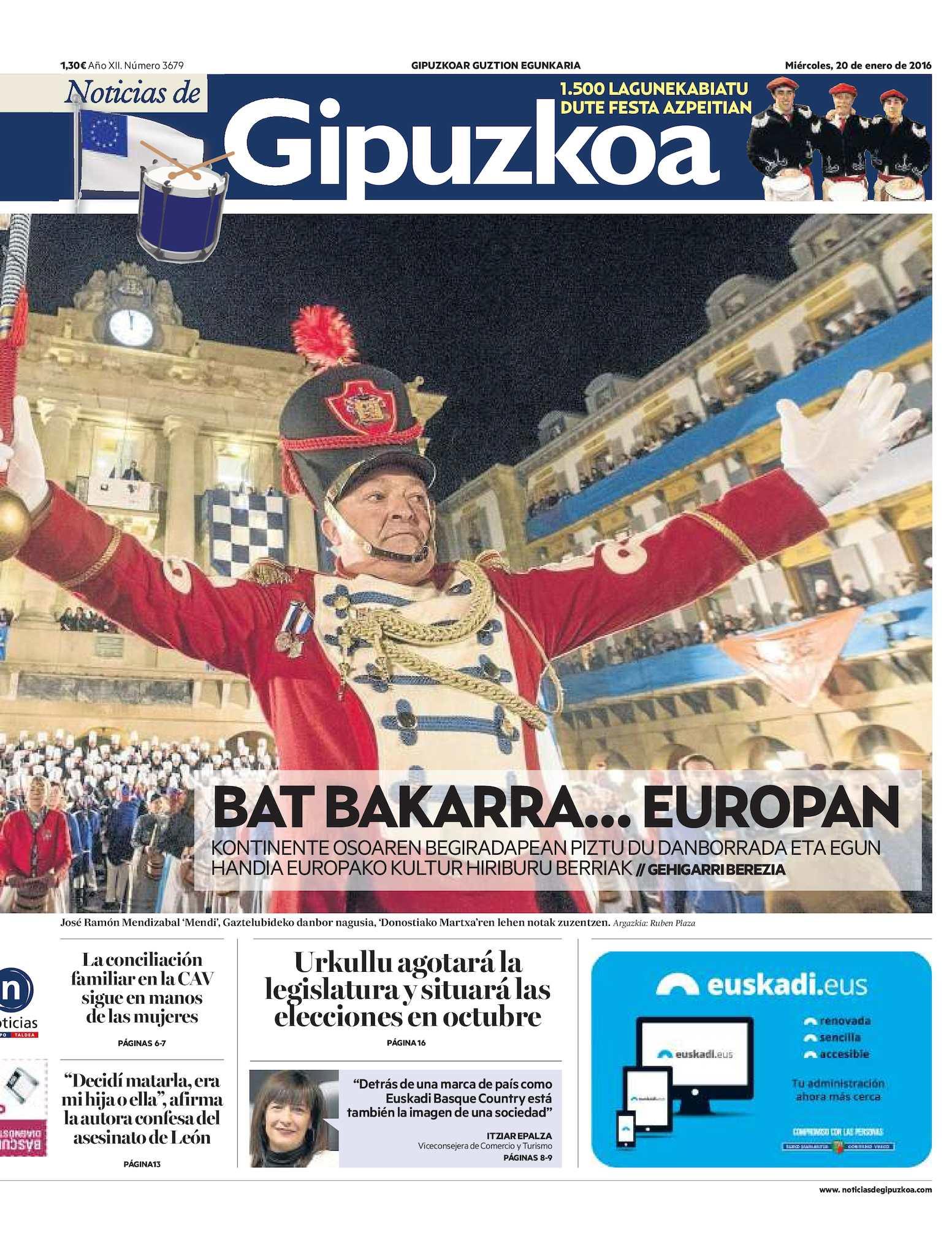 dd8d884e1 Calaméo - Noticias de Gipuzkoa 20160120