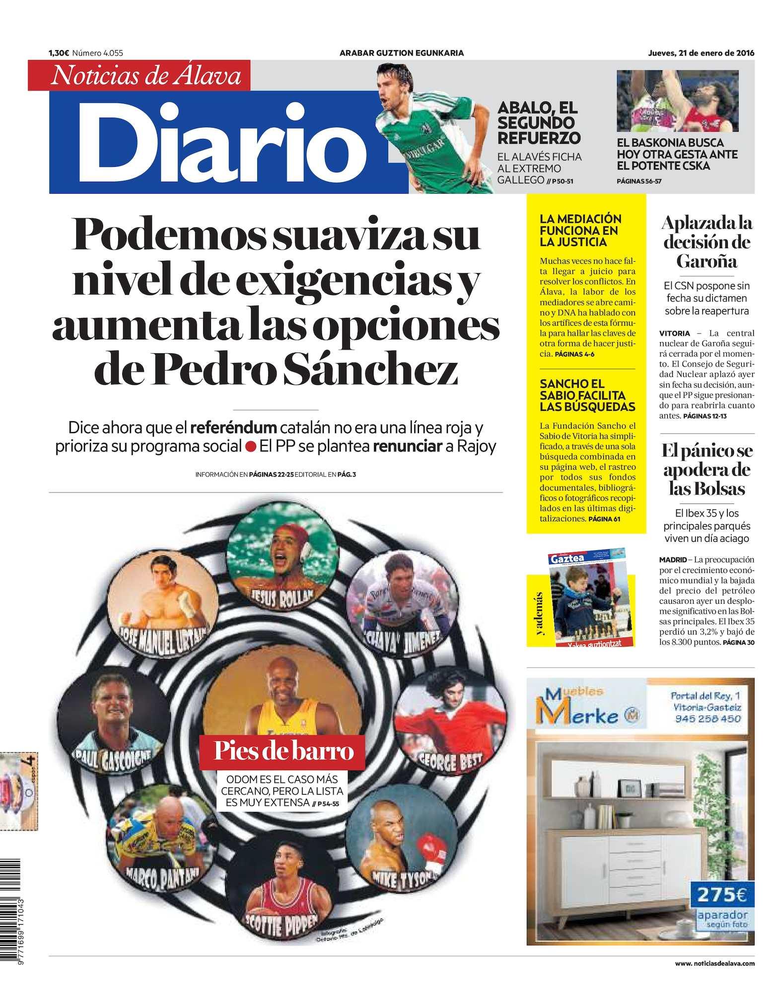 ddd75d305e48 Calaméo - Diario de Noticias de Álava 20160121