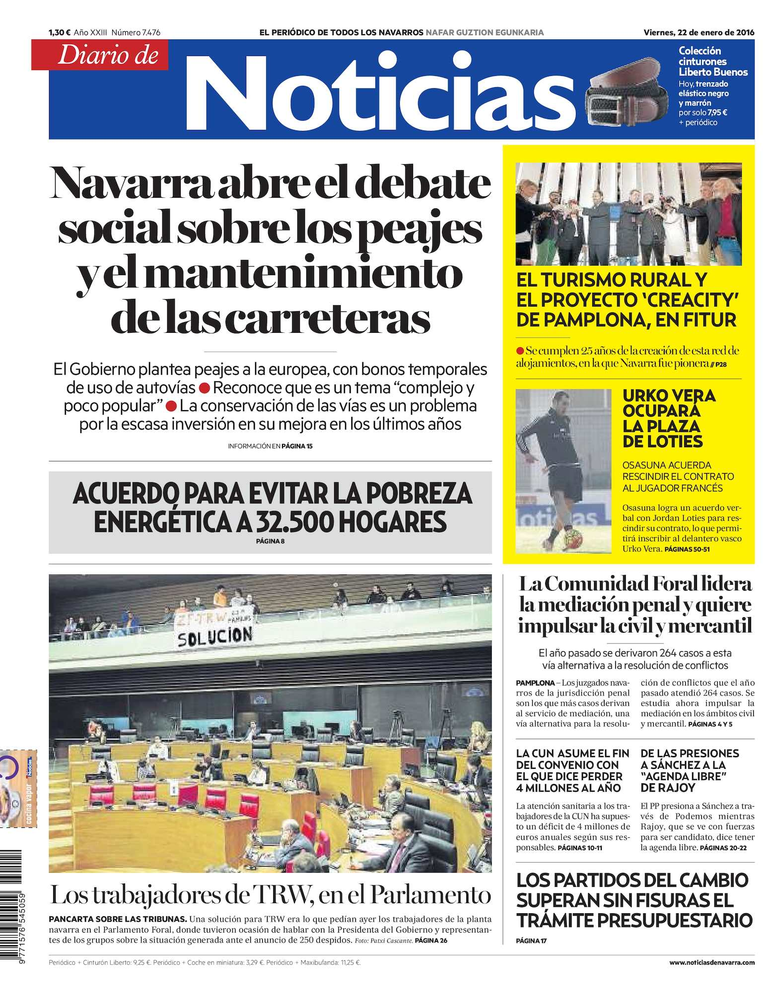Calaméo - Diario de Noticias 20160122 2884f769204