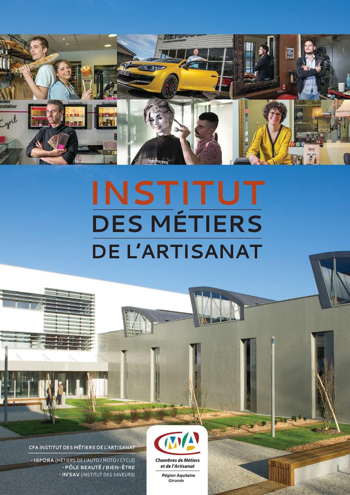 Calam o l 39 institut des metiers de l 39 artisanat - Chambre des metiers et de l artisanat bordeaux ...