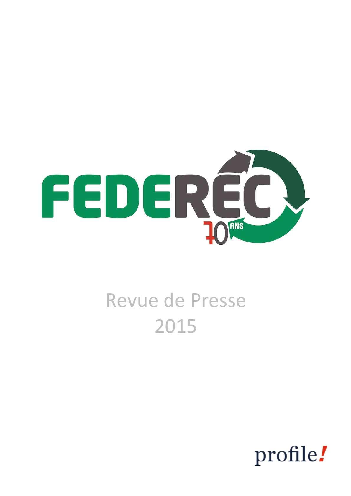 74ae08dead552c Calaméo - Revue De Presse Federec 2015