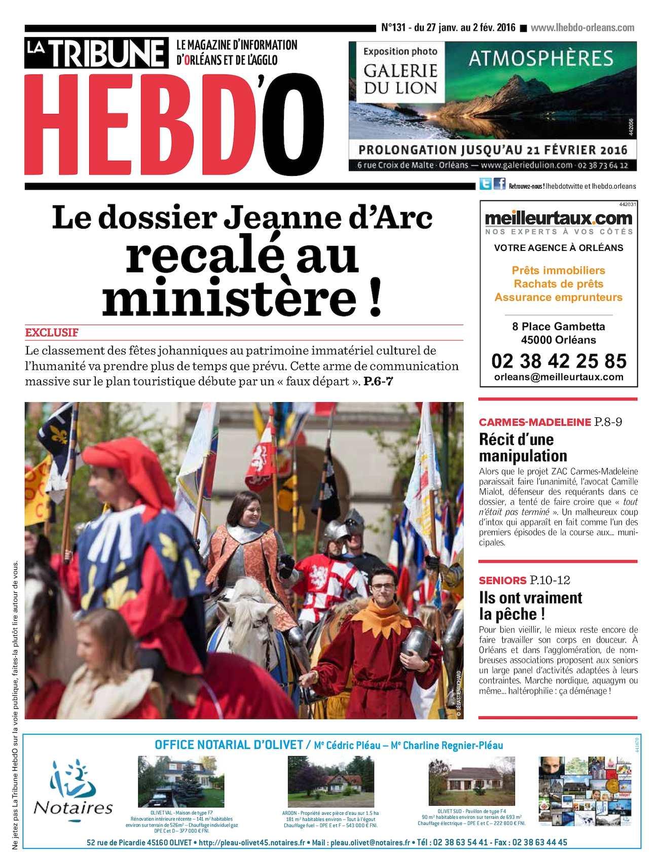 4498d233a17 Calaméo - Tribune HebdO N° 131 Magazine d actualité d Orléans et de son  Agglo