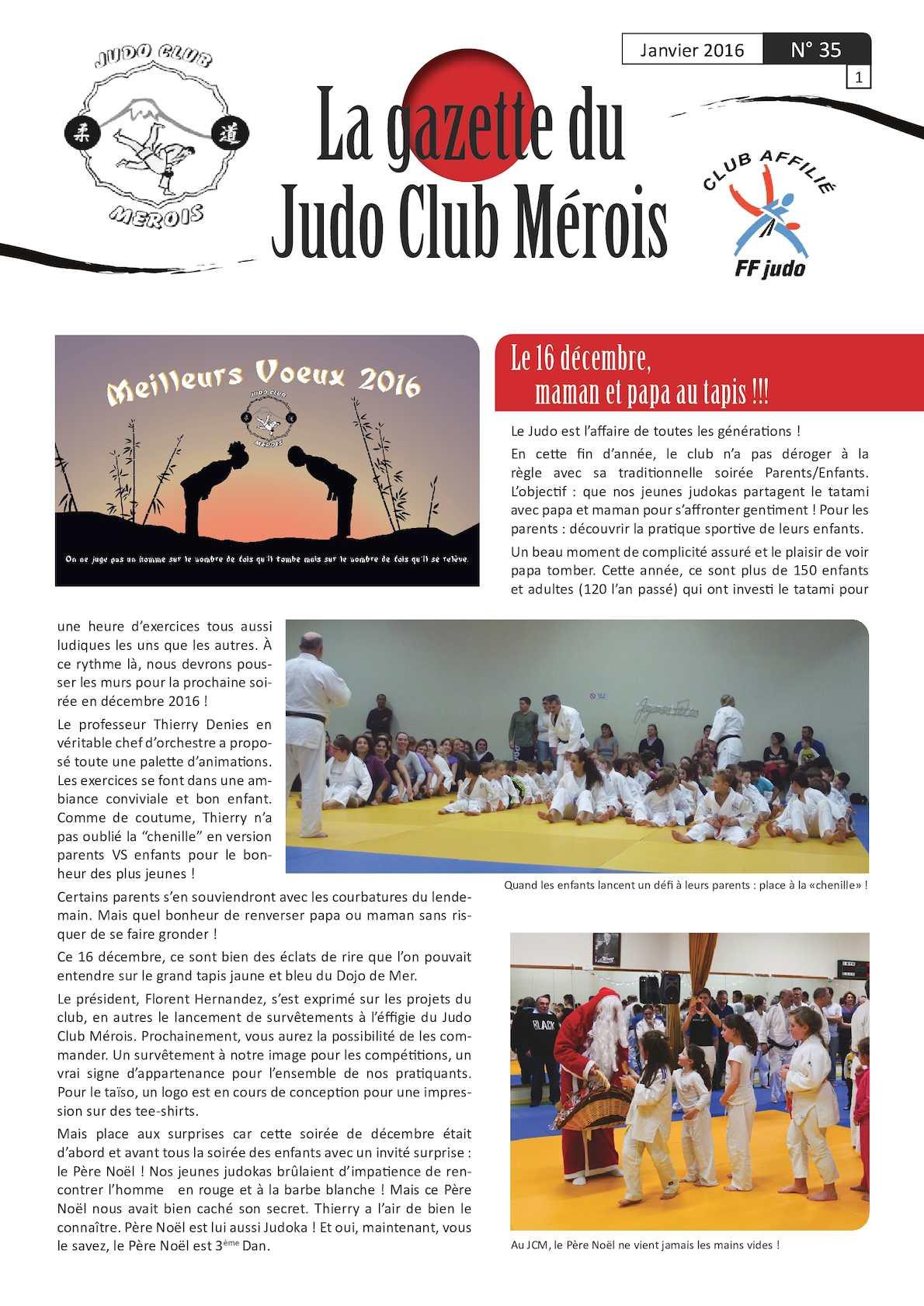 Calaméo - Gazette Judo Club Mérois - Janvier 2016 eb125299ffa