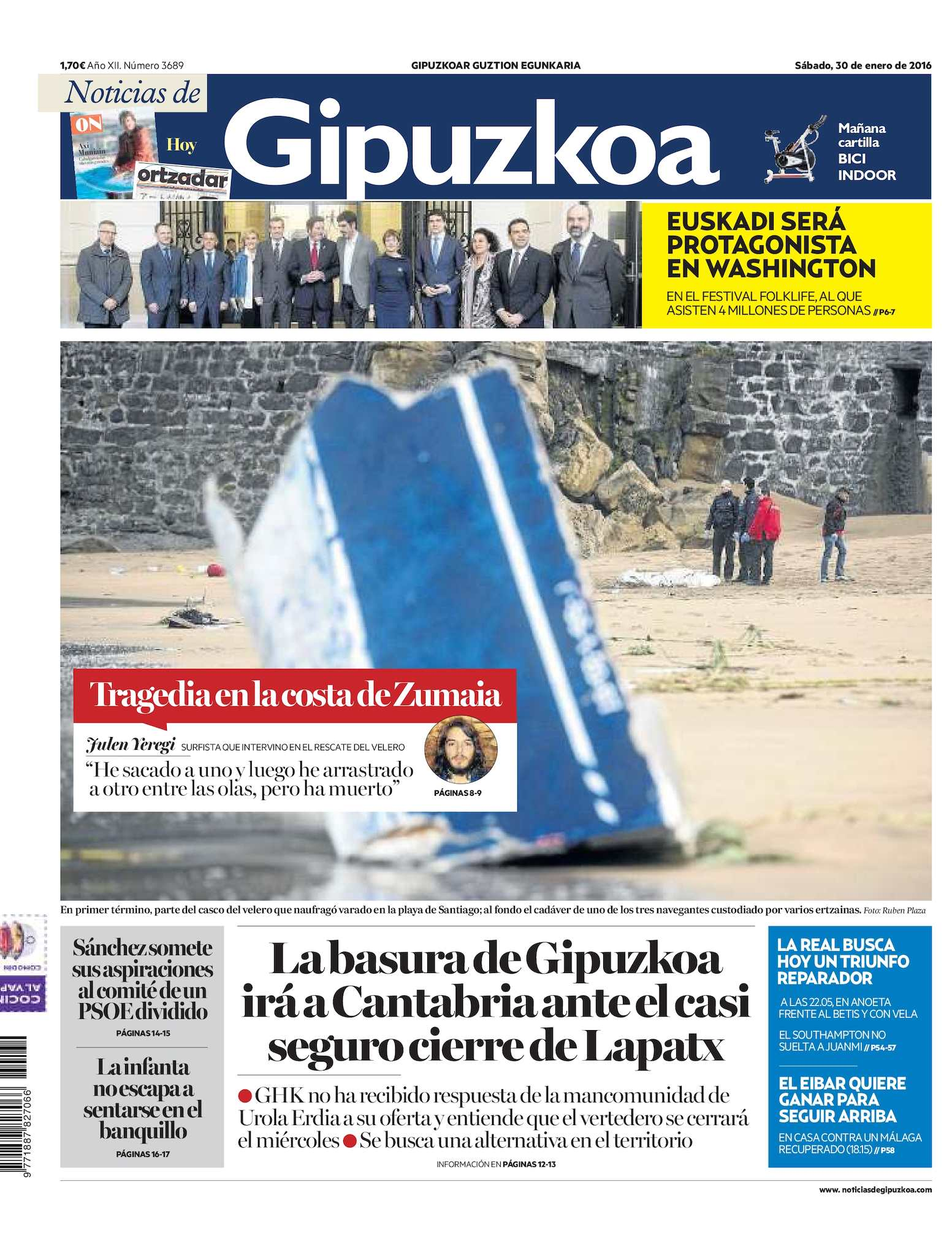 Calaméo Noticias De Calaméo De Gipuzkoa Gipuzkoa Noticias 20160130 54RAjqL3