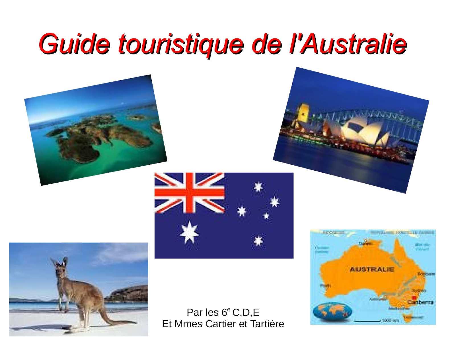 Australie Guide Guide Calaméo TouristiqueL' TouristiqueL' Calaméo Australie XikOPZu