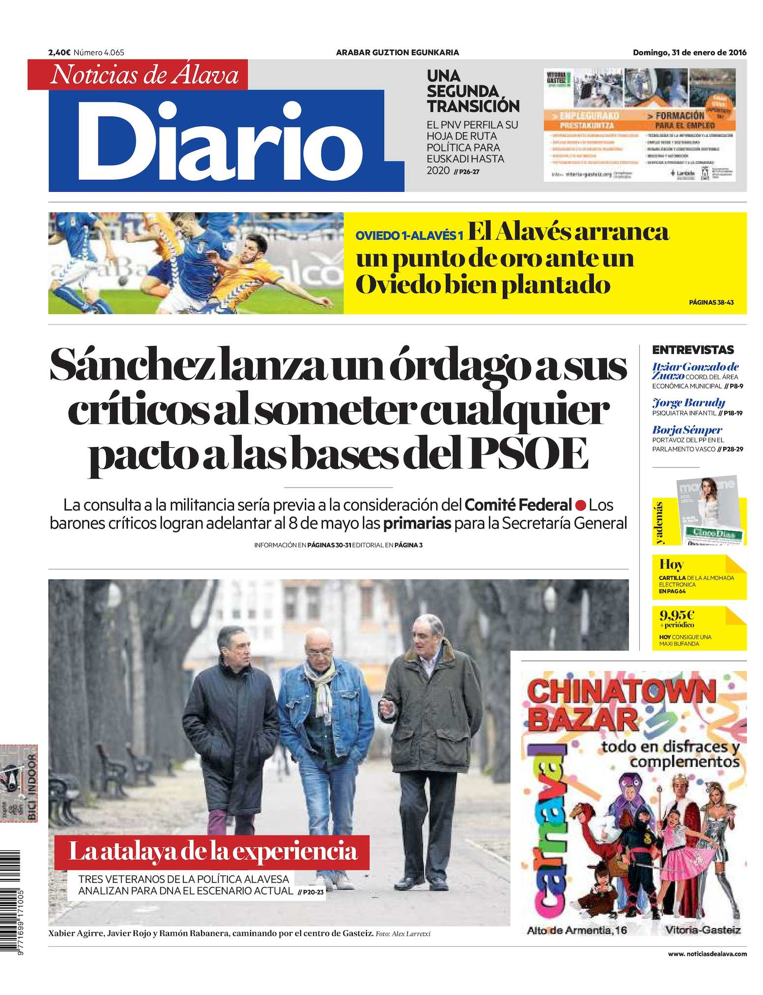 new concept 7fb93 9984e Calaméo - Diario de Noticias de Álava 20160131