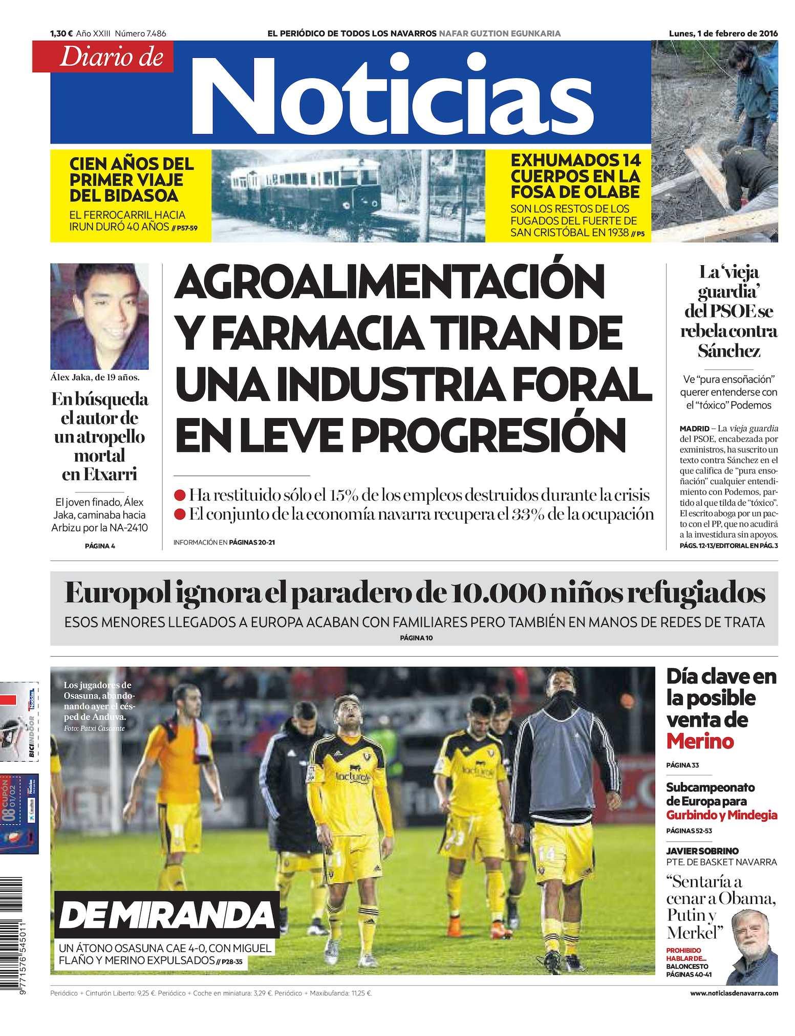 6e6ba1c652ae Calaméo - Diario de Noticias 20160201