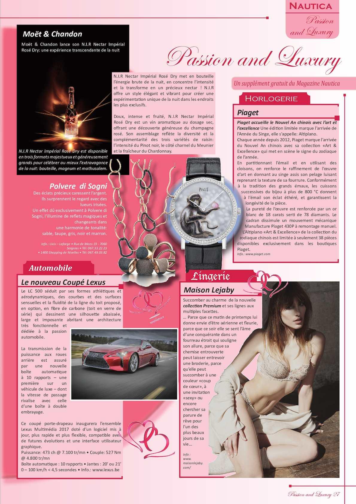 Calaméo - Passion and Luxury 125 Fr 5f02f7f9c72d