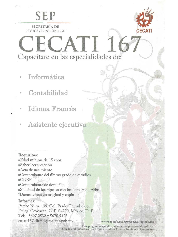 Terms Of Use >> Calaméo - Cecati 167 Cursos De Capacitacion