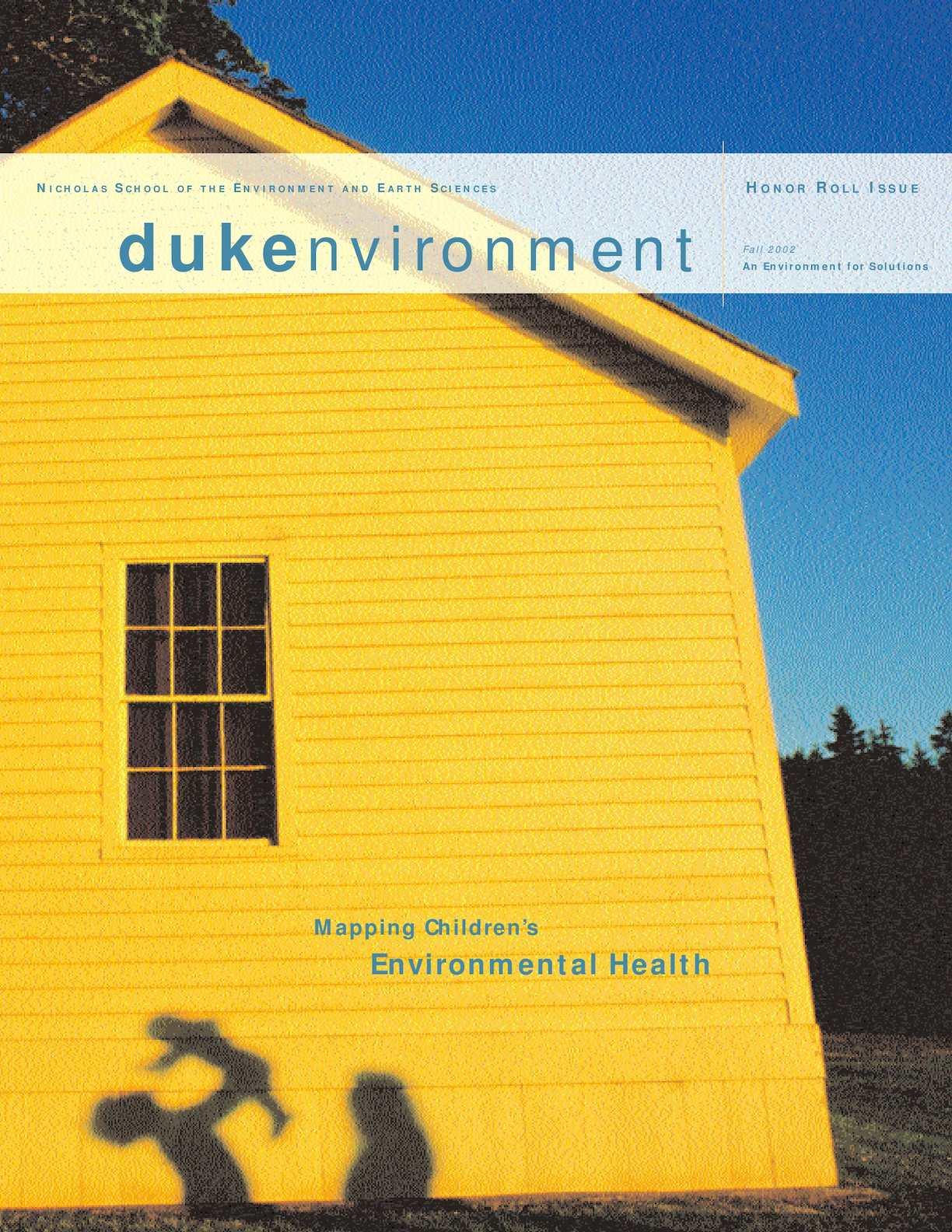 Calaméo Dukenvironment Magazine Fall 2002
