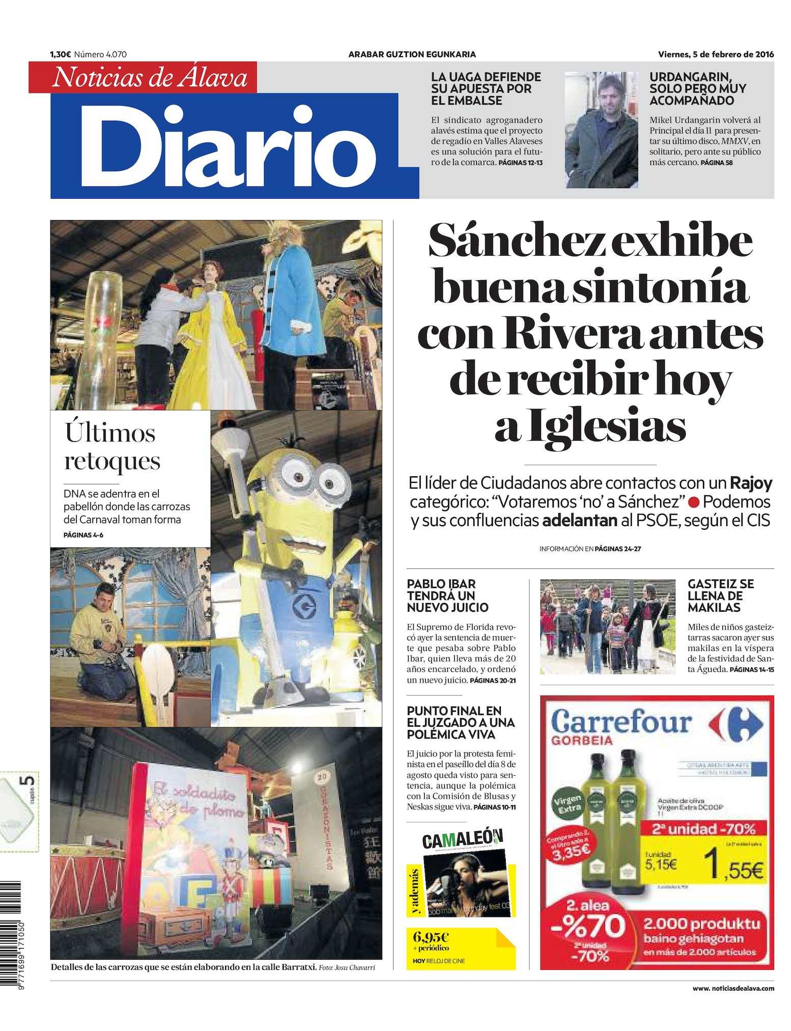 a2497b81354fd Calaméo - Diario de Noticias de Álava 20160205