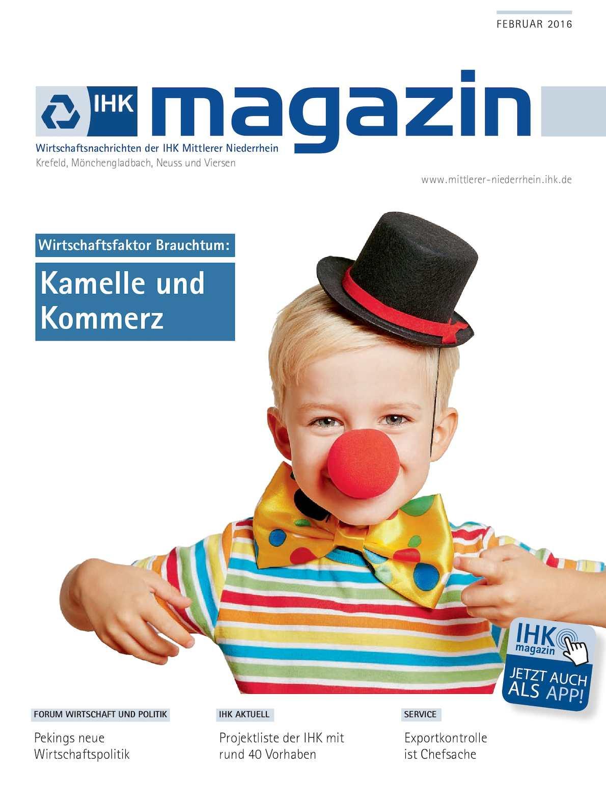 9523a3866c18d2 Calaméo - IHK Magazin Februar 2016