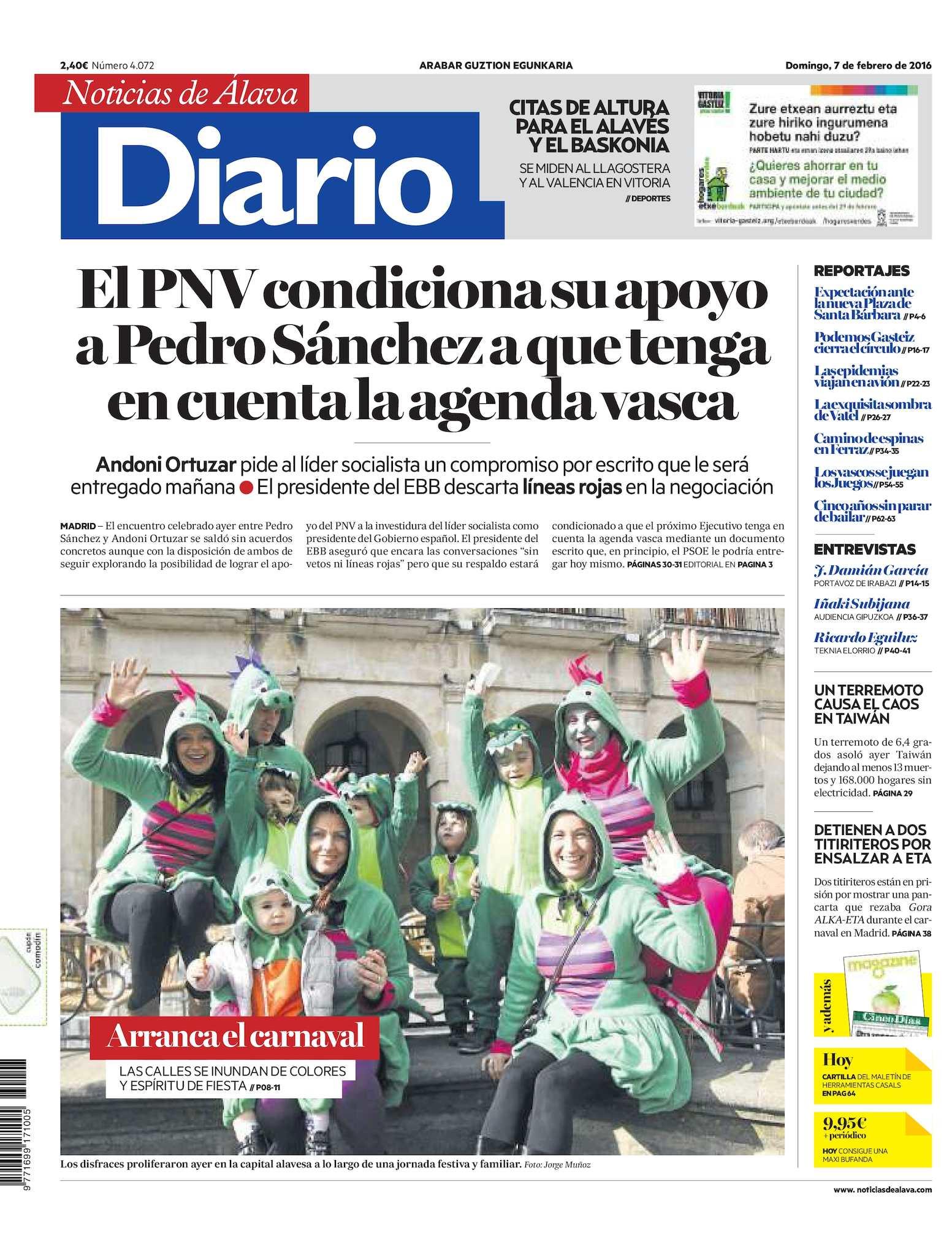 sale retailer 103e8 4625b Calaméo - Diario de Noticias de Álava 20160207