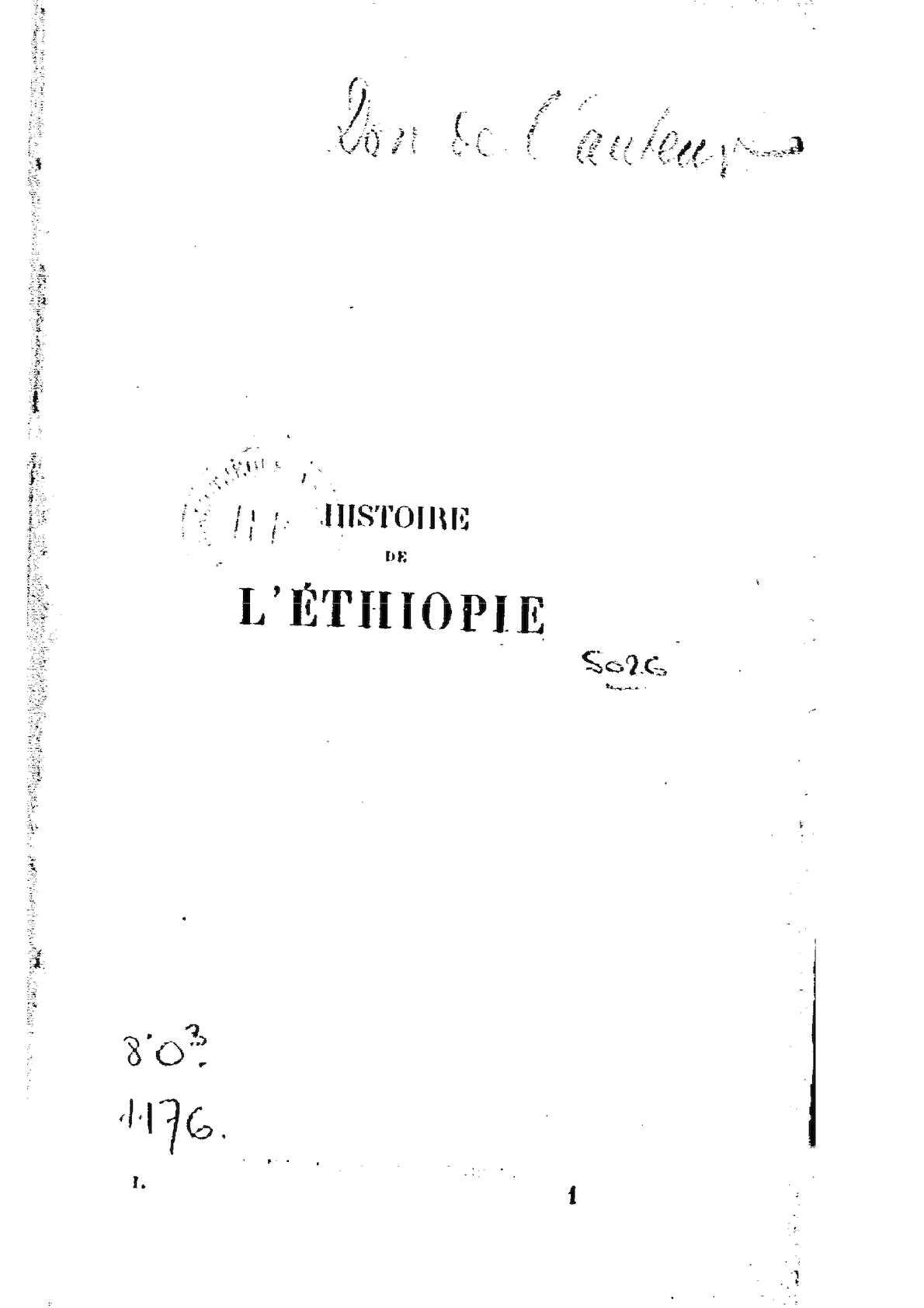 b70474c4f3f4 Calaméo - Histoire de l Ethiopie par L.-J. Morié. 1904