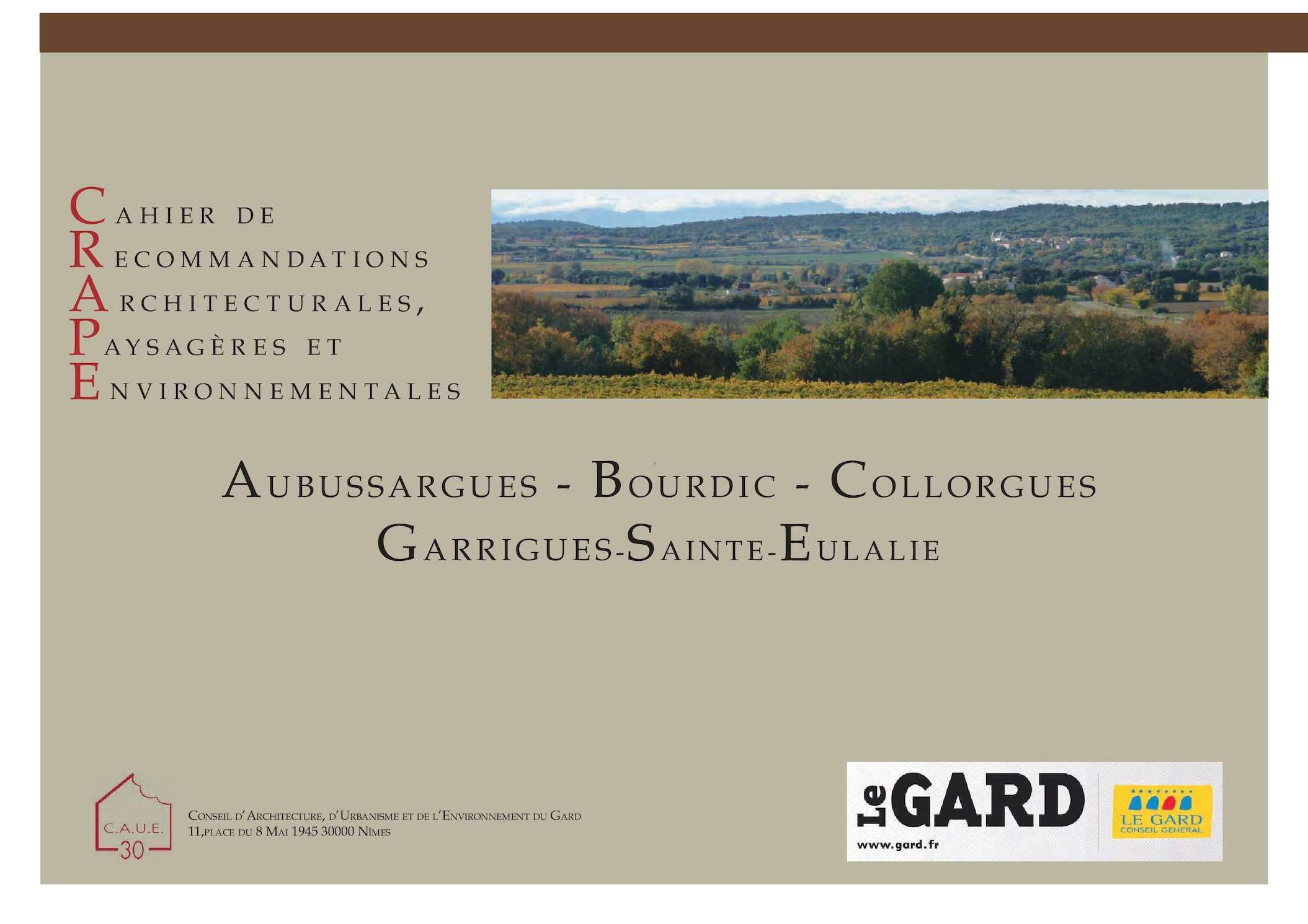 19cf79b878903 Calaméo - Cahier de Recommandations Architecturale et Paysagères de la  commune d Aubussargues