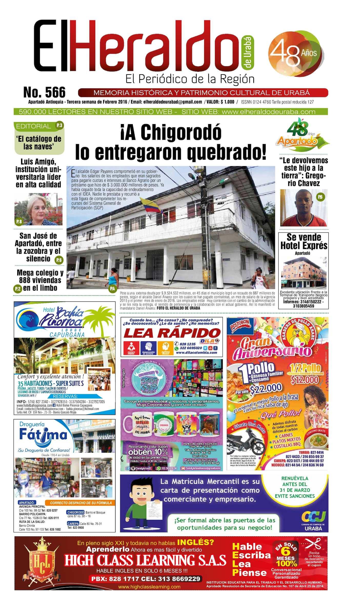 Calaméo - Heraldo 566
