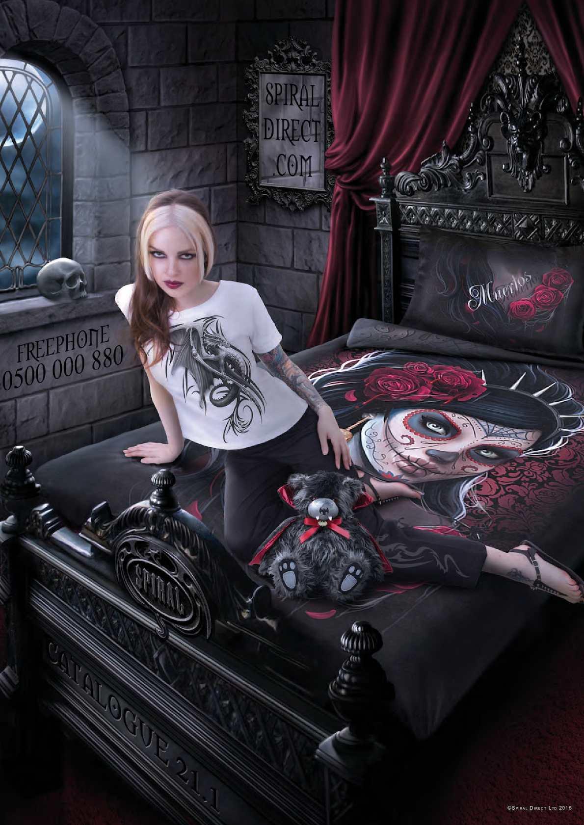 Steam Punk Tattoo Metal Rock Biker Spiral SOUL SEARCHER T-Shirt Tee Goth
