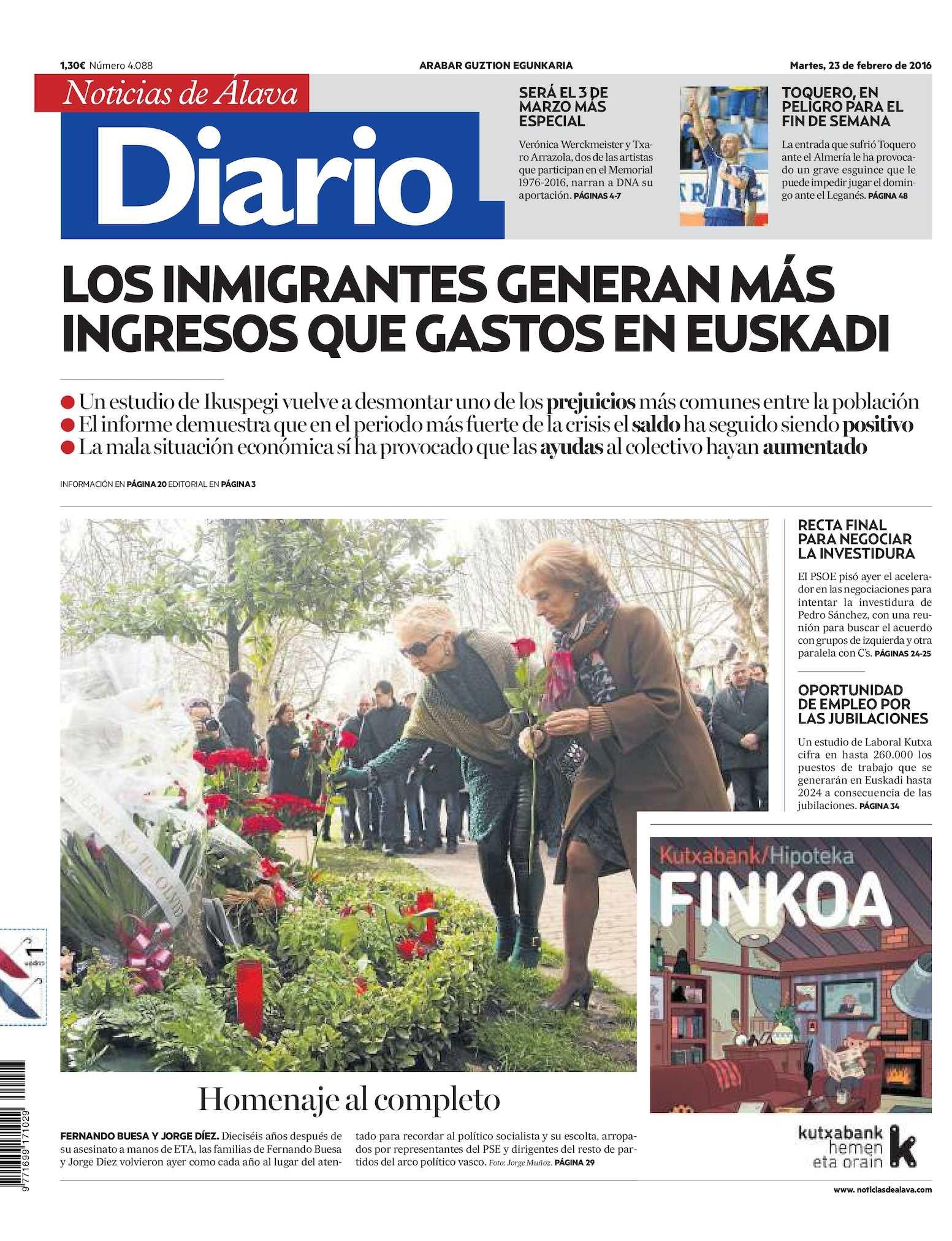 c7a73a163a Calaméo - Diario de Noticias de Álava 20160223