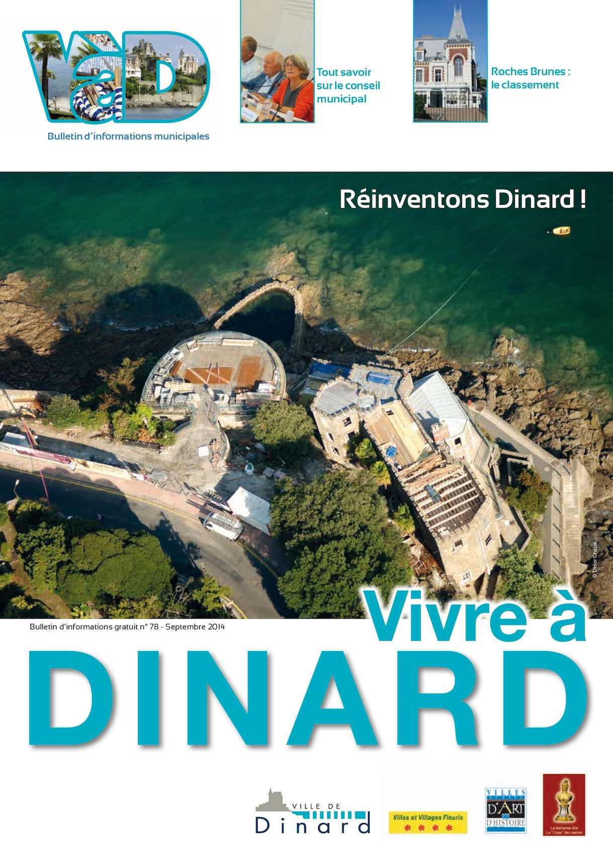Le Choix De Sophie Dinard calaméo - vivre à dinard n°78 - septembre 2014