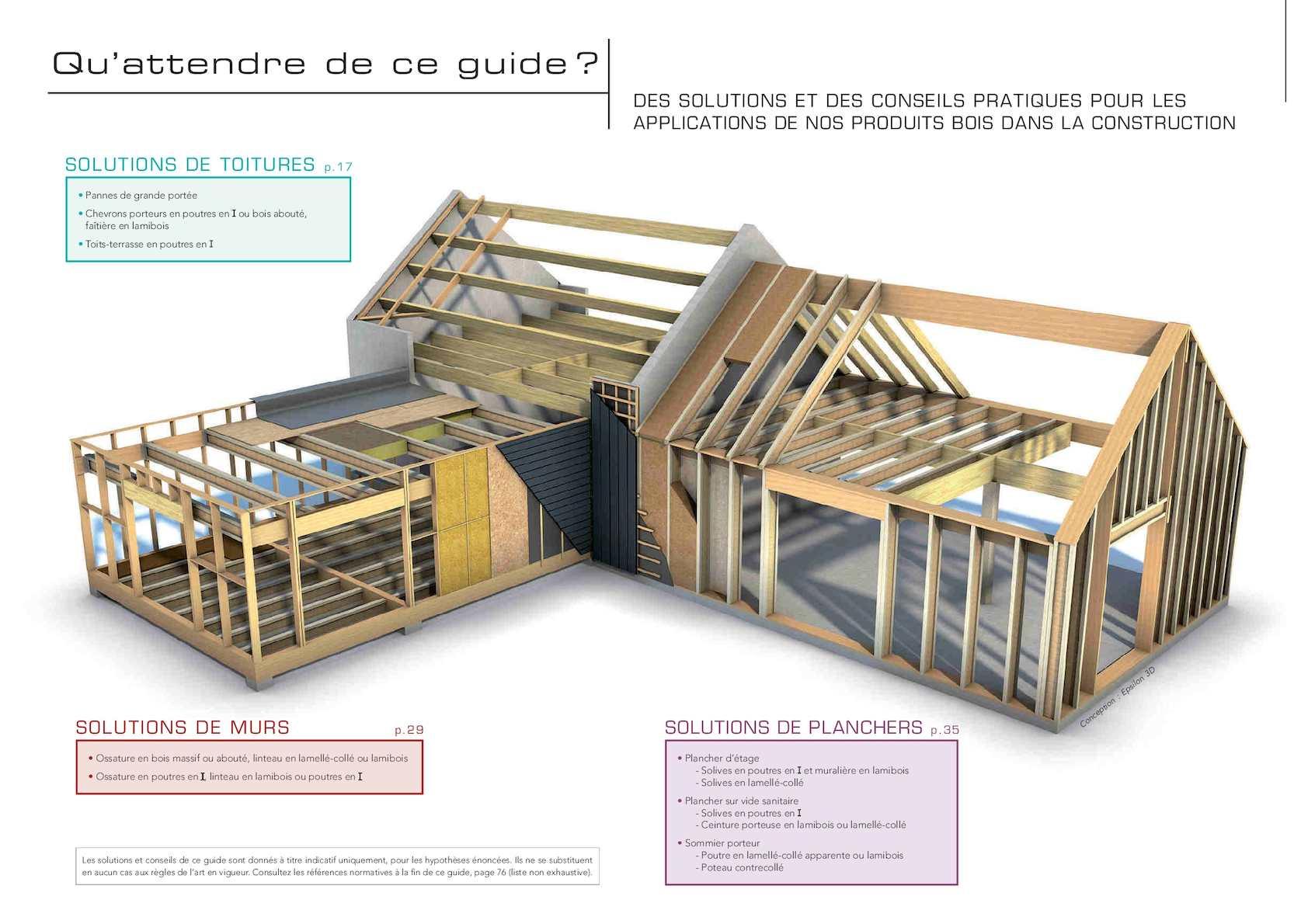 Poteau Bois Pour Terrasse guide technique structure bois 2016 - calameo downloader