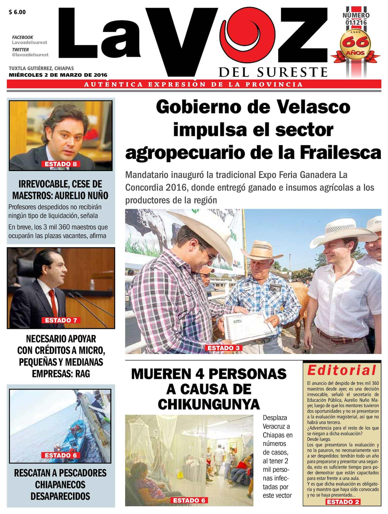 Calaméo - Diario La Voz del Sureste c1ededd20167