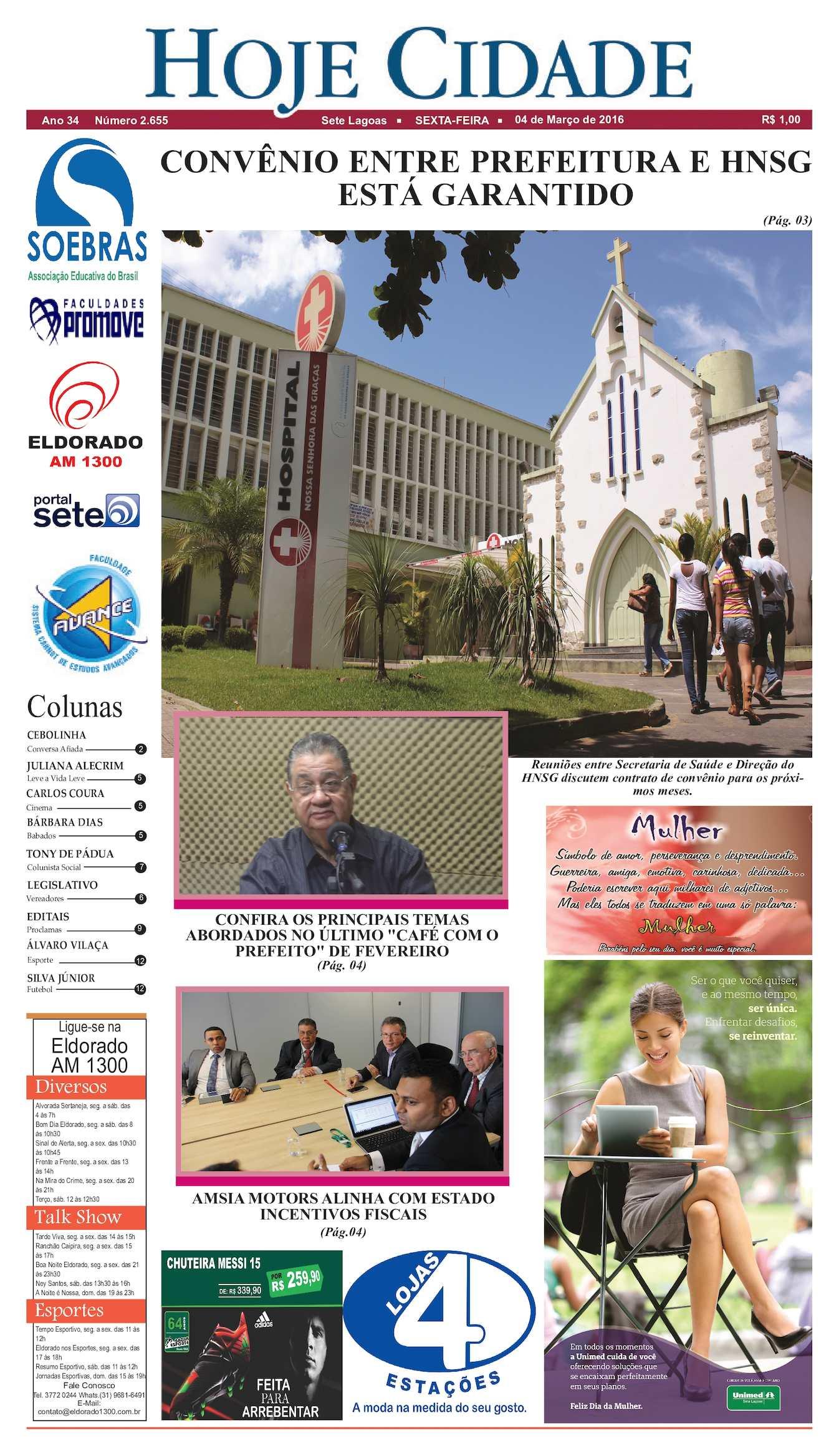 Calaméo - Jornal Hoje Cidade 04 03 2016 bbcbd92170